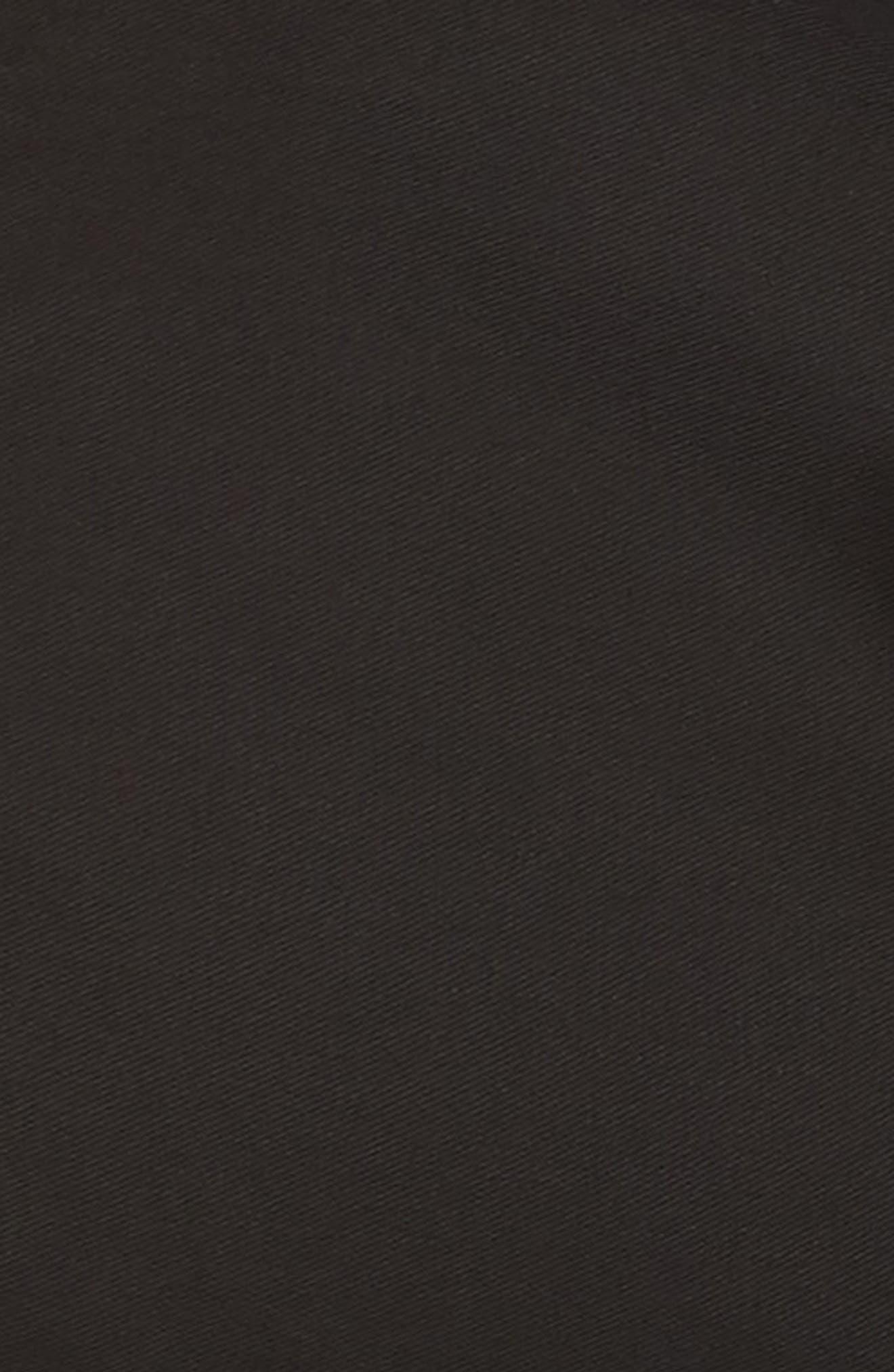 Tie Front Shorts,                             Alternate thumbnail 11, color,                             BLACK