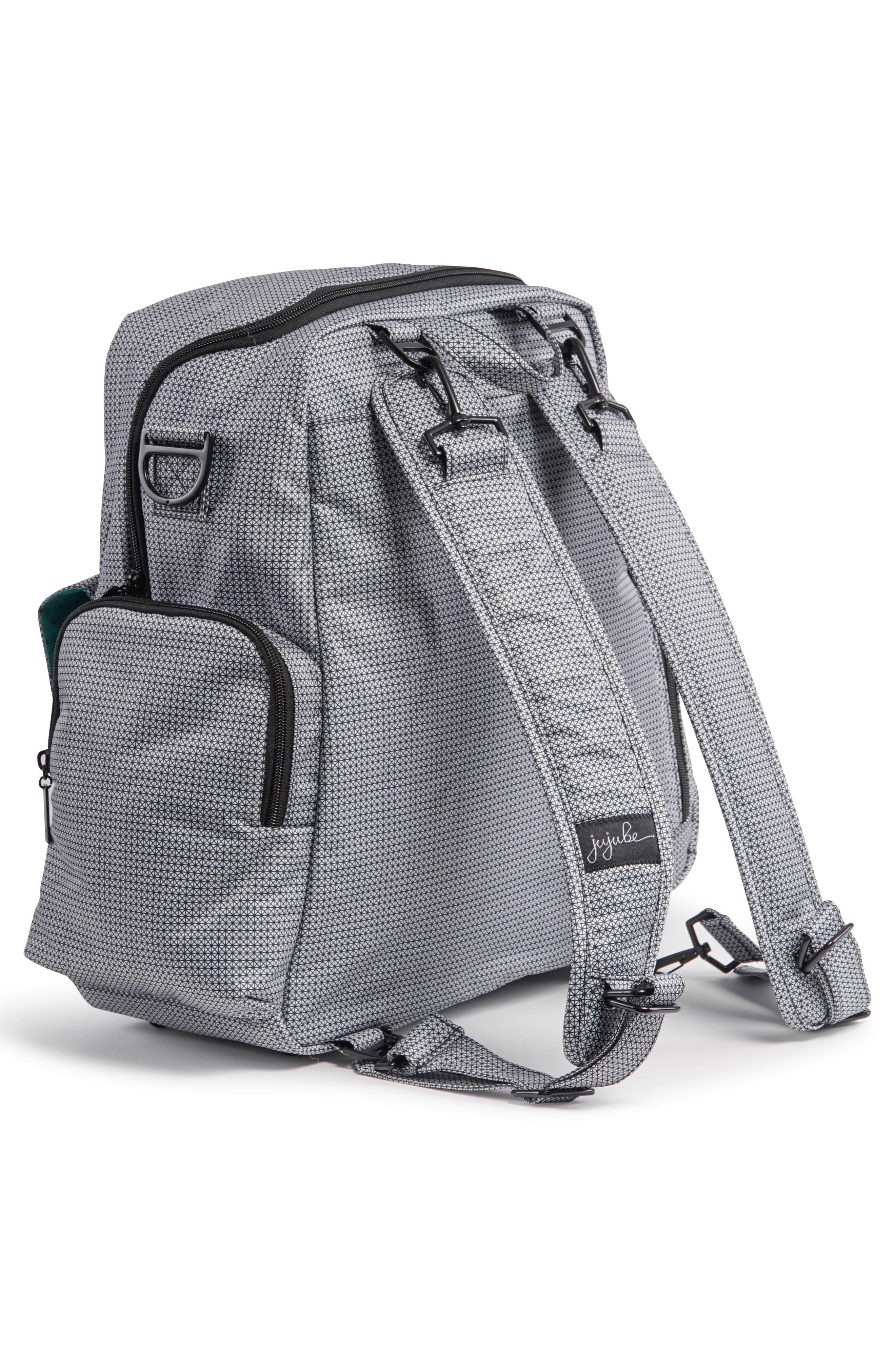 Be Nurtured Pumping Backpack,                             Alternate thumbnail 6, color,                             BLACK MATRIX
