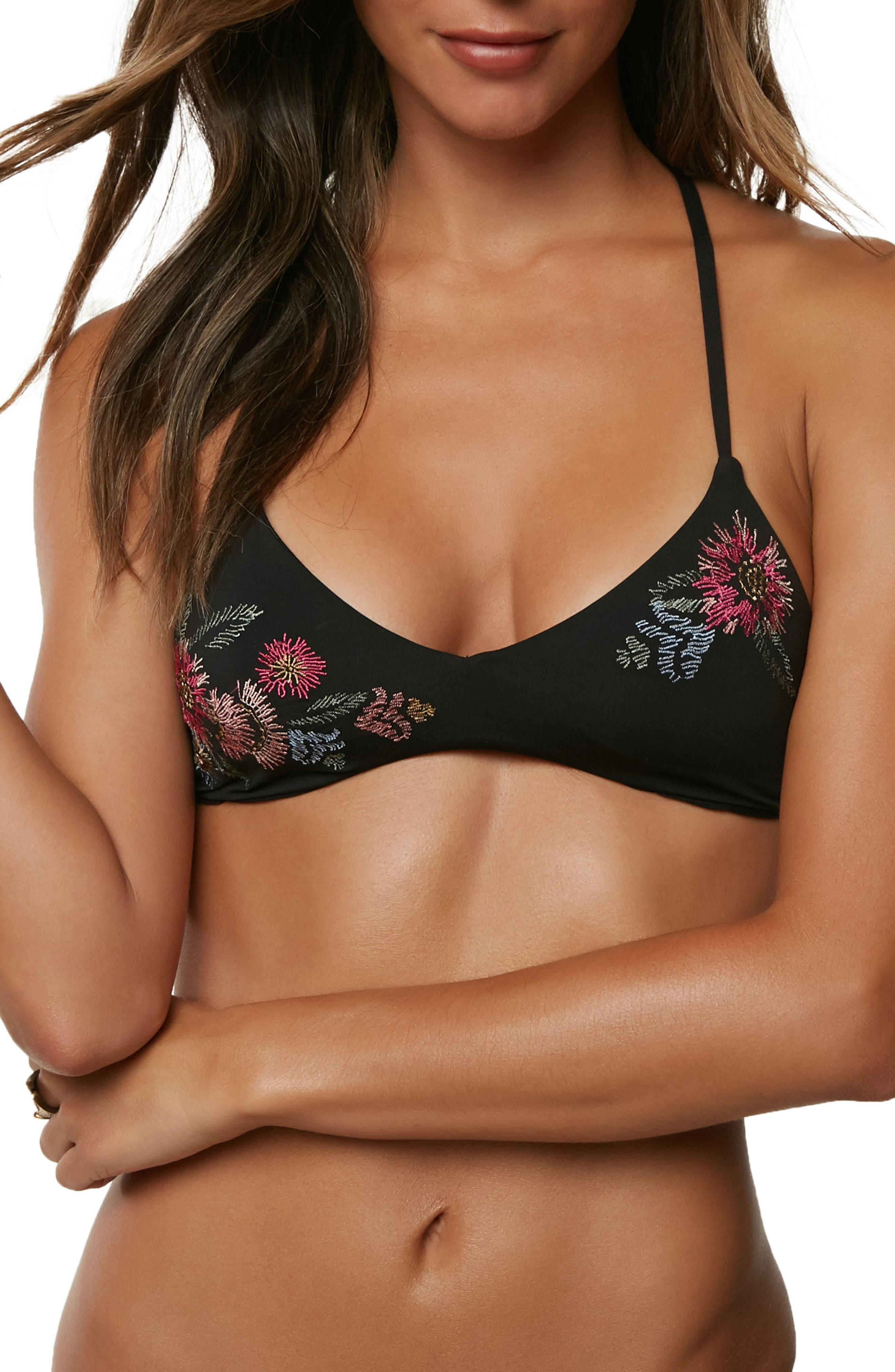 Summer Lovin' Bikini Top,                         Main,                         color, 001