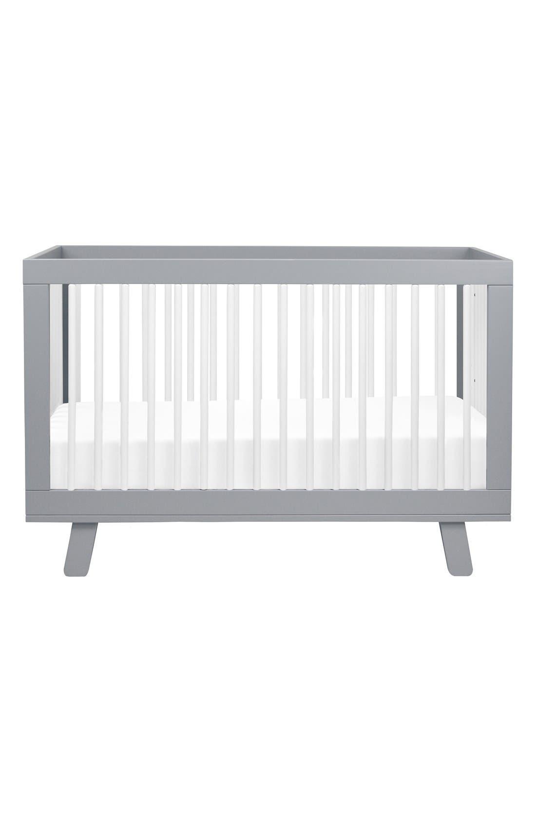 'Hudson' 3-in-1 Convertible Crib,                             Main thumbnail 2, color,