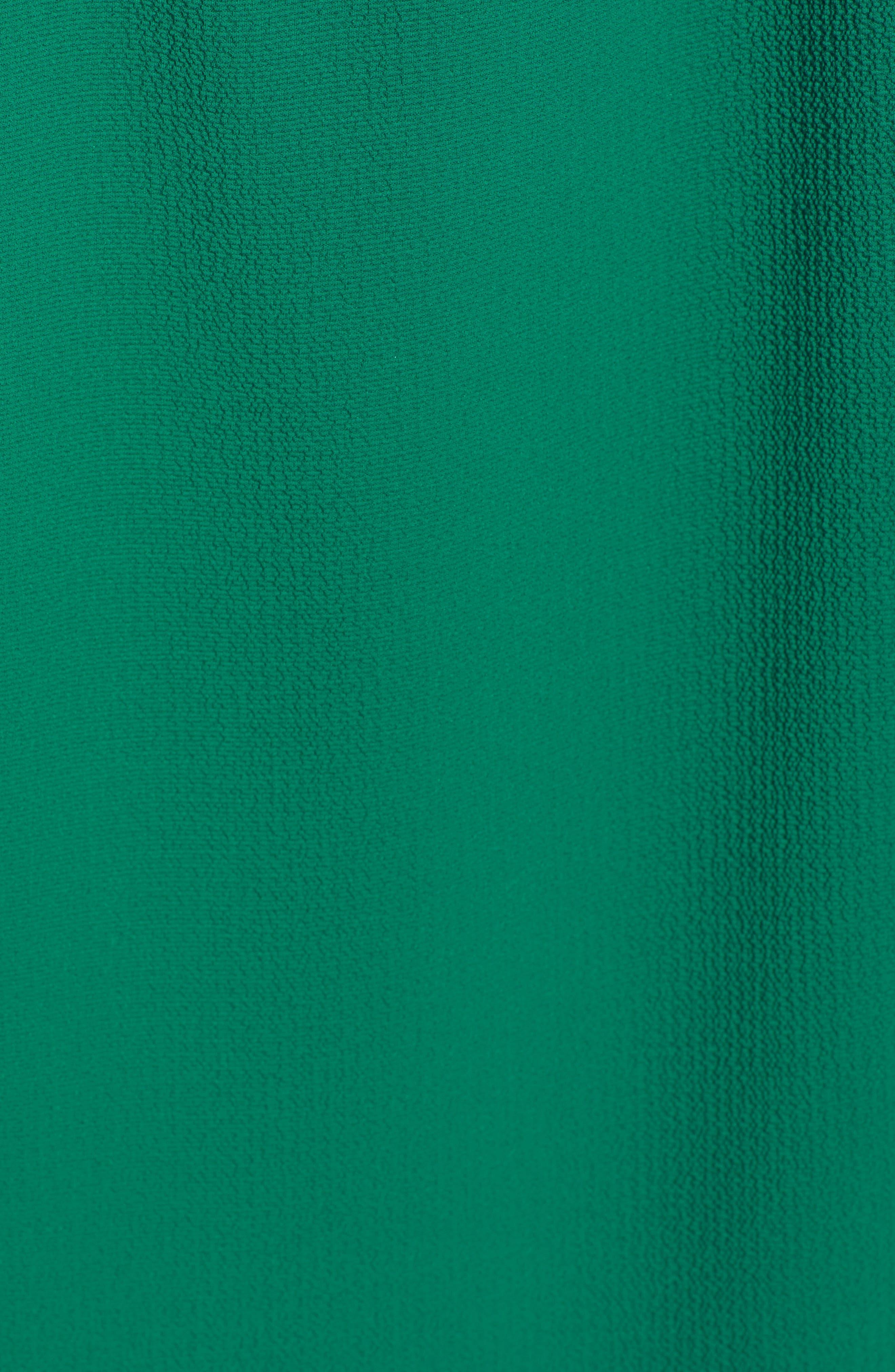 GIBSON,                             x International Women's Day Chelsea Halter Neck Date Top,                             Alternate thumbnail 5, color,                             GREEN