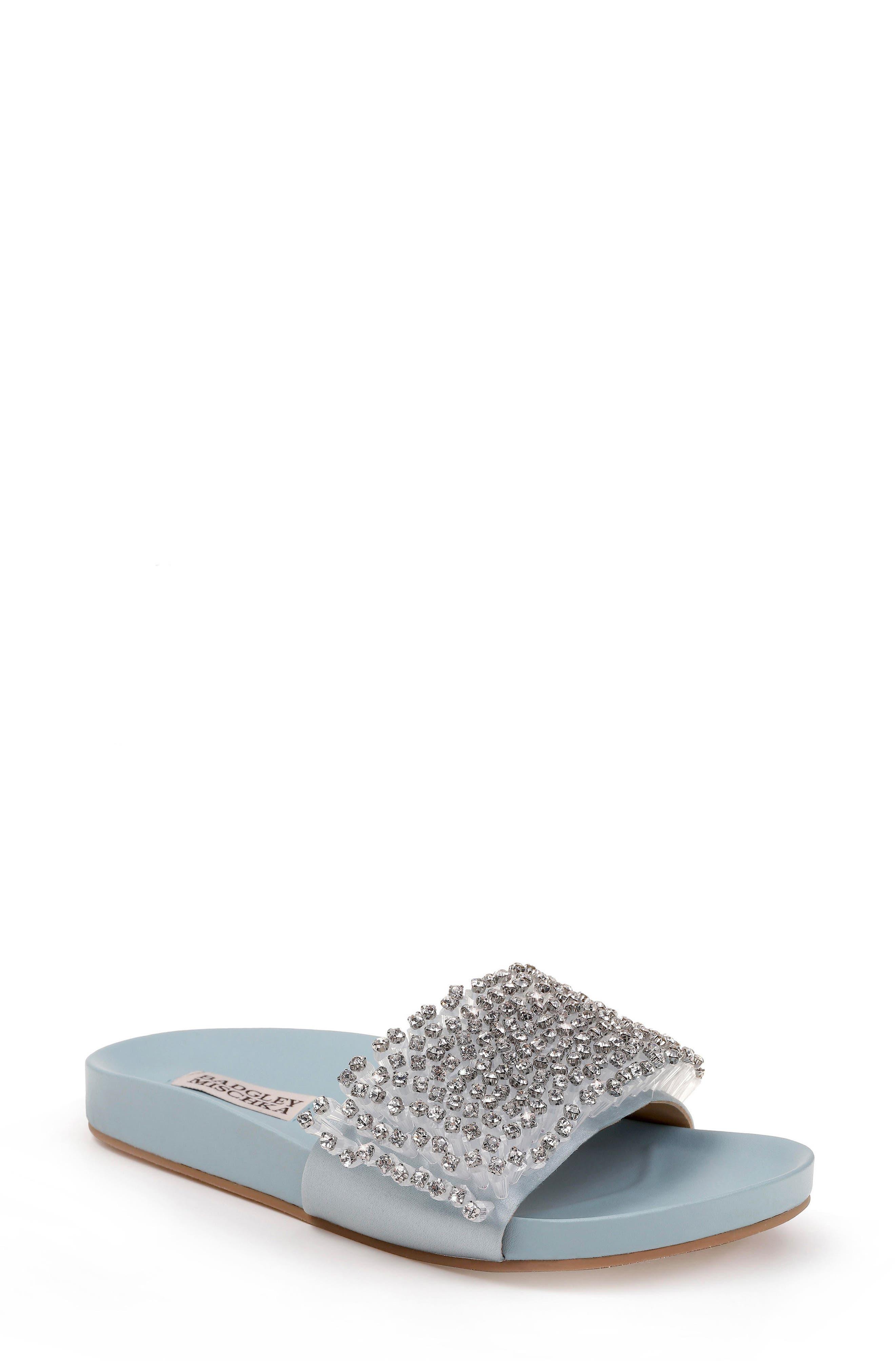 Horton Crystal Embellished Sandal,                             Main thumbnail 3, color,