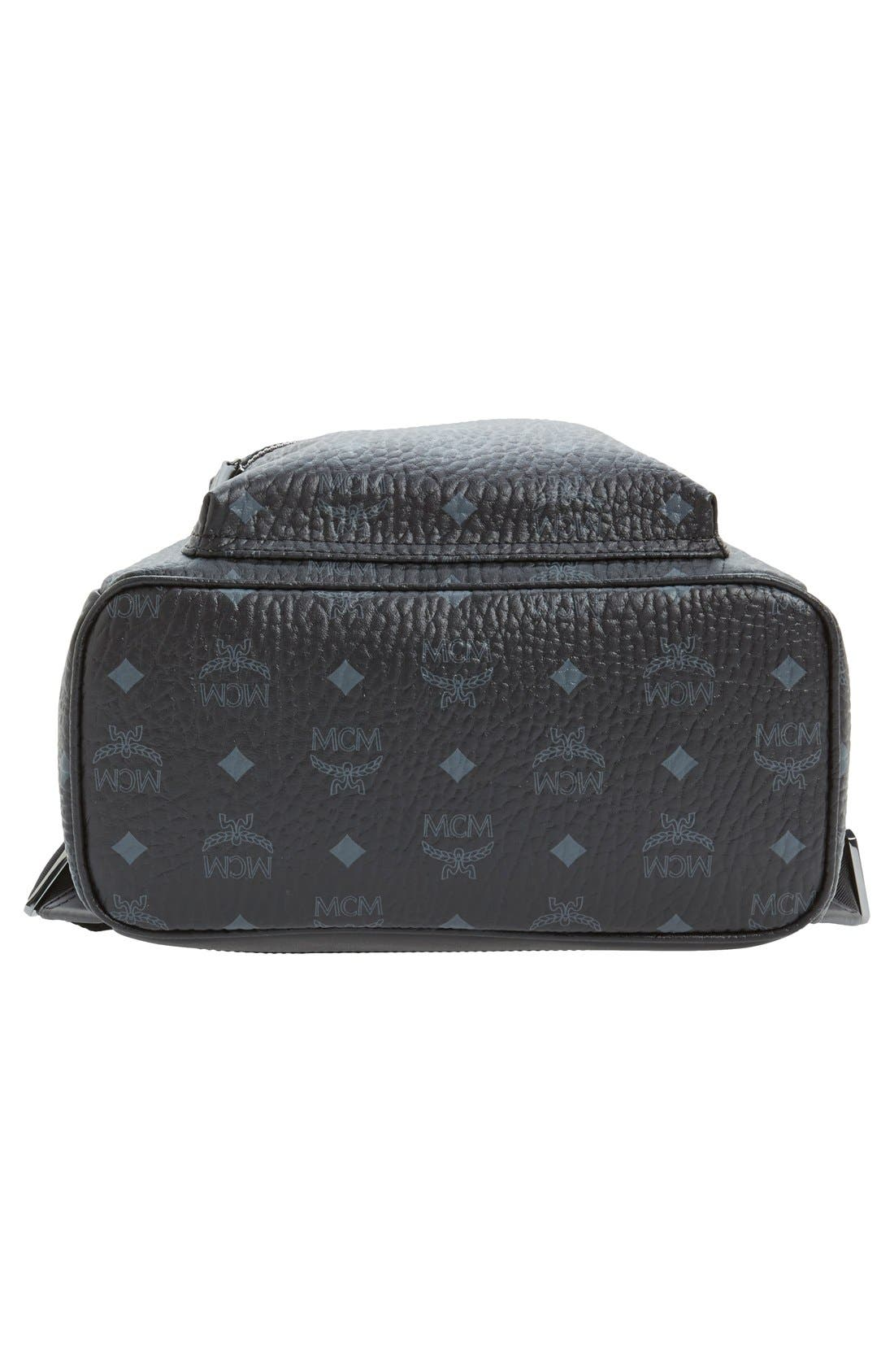 Small Stark Side Stud Backpack,                             Alternate thumbnail 4, color,                             001