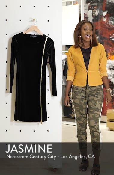 Zella Aurore Velvet Jersey Sheath Dress, sales video thumbnail
