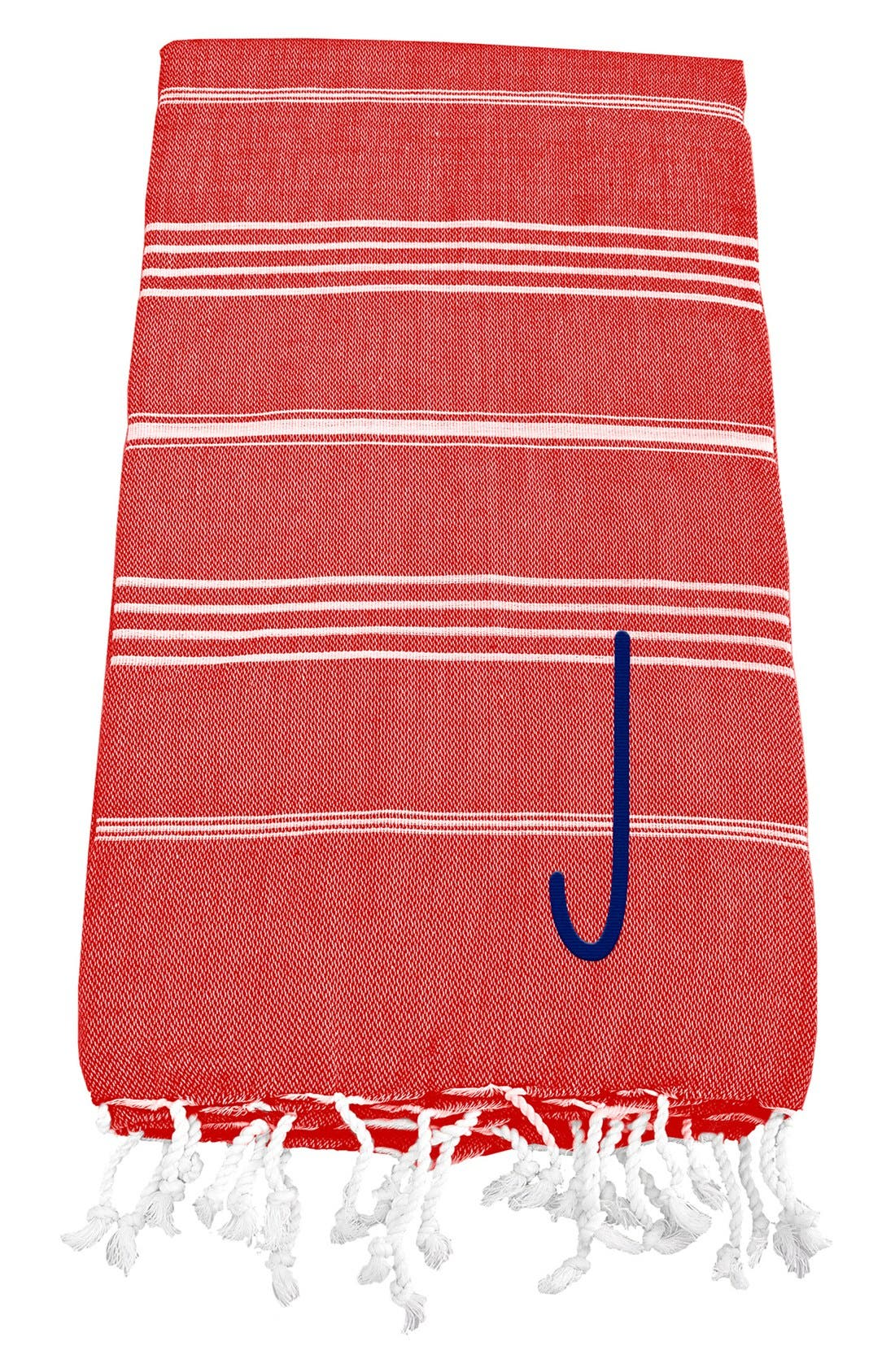 Monogram Turkish Cotton Towel,                             Main thumbnail 119, color,