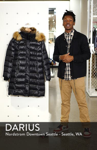 Uptown Down & Feather Fill Faux Fur Quilted Parka, sales video thumbnail