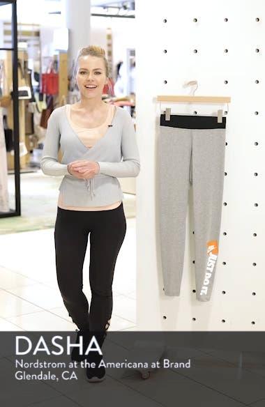 Sportswear Just Do It High Rise Women's Leggings, sales video thumbnail