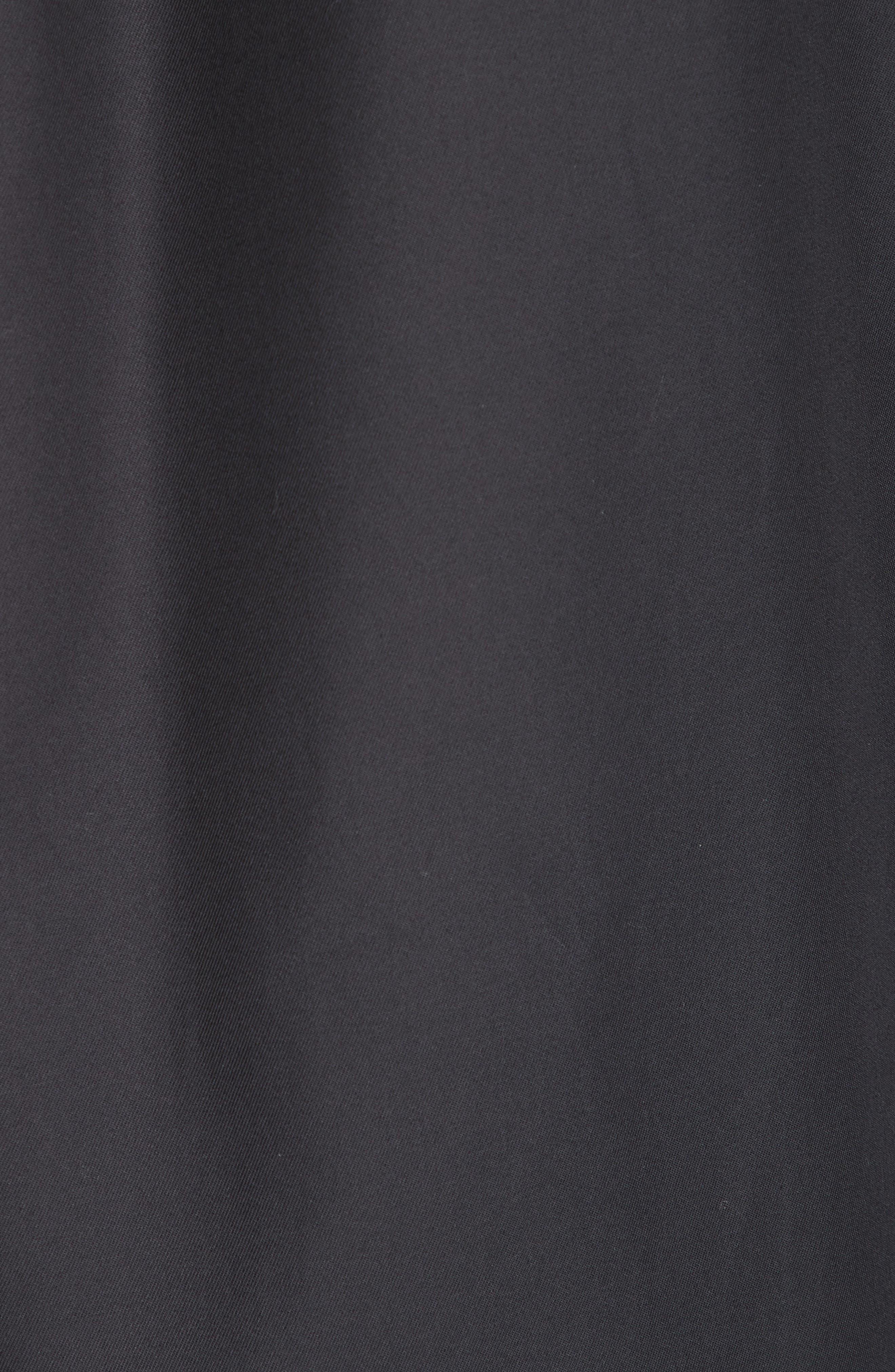 Gabardine Woven Shirt,                             Alternate thumbnail 5, color,                             NAVY
