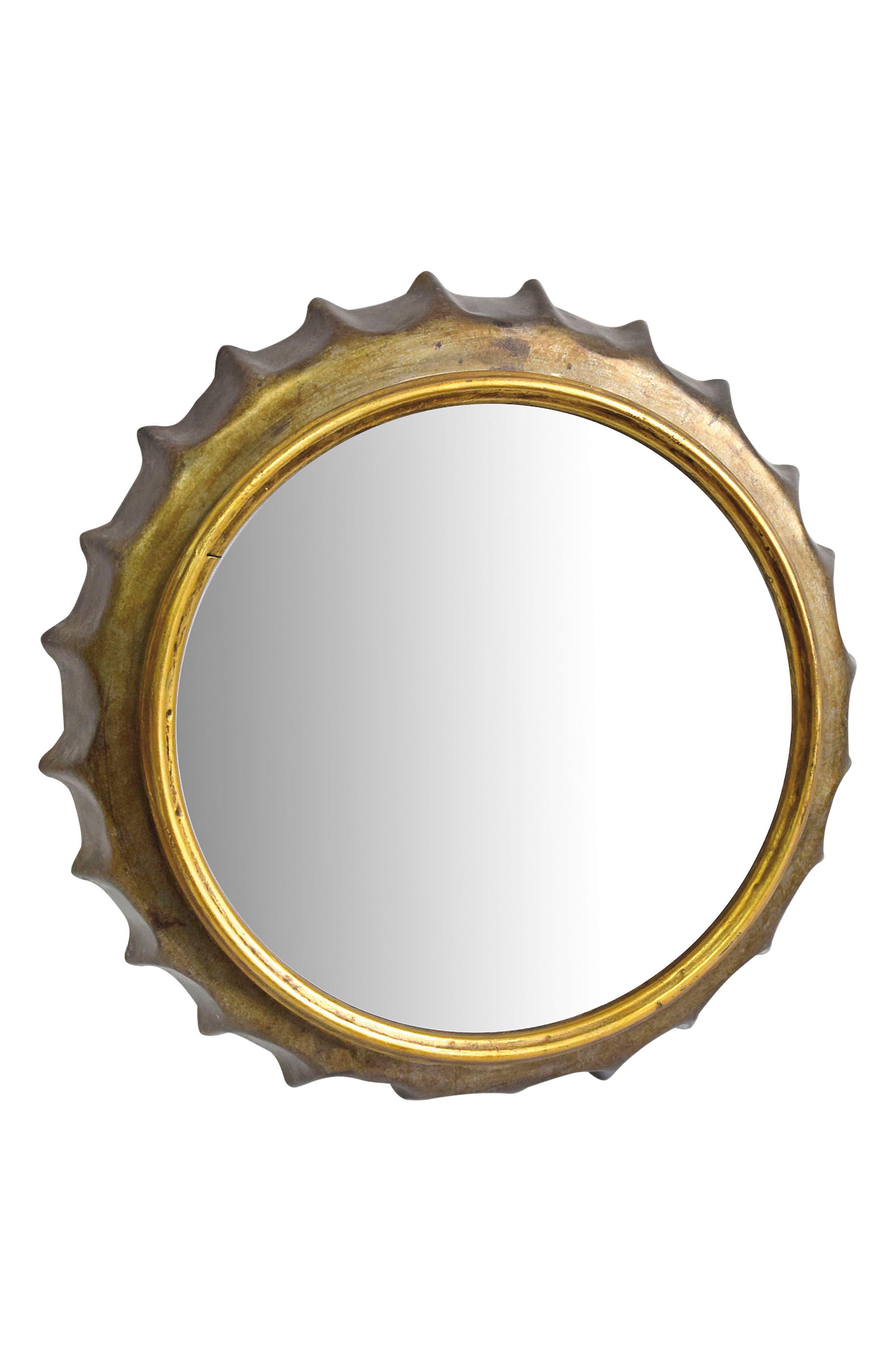 Bottle Cap Mirror,                             Main thumbnail 1, color,                             710
