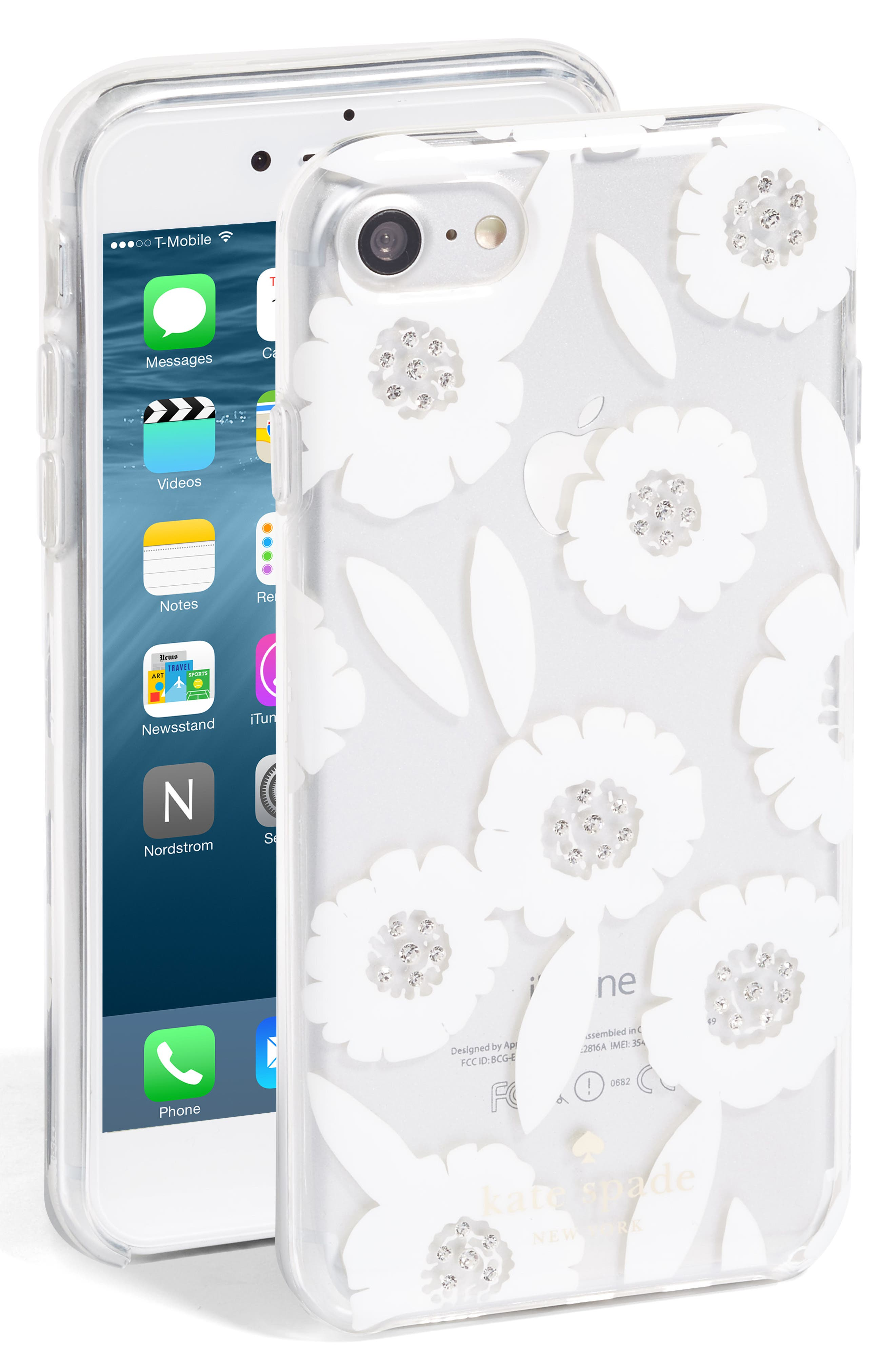 jeweled majorelle iPhone 7/8 case,                             Main thumbnail 1, color,                             100
