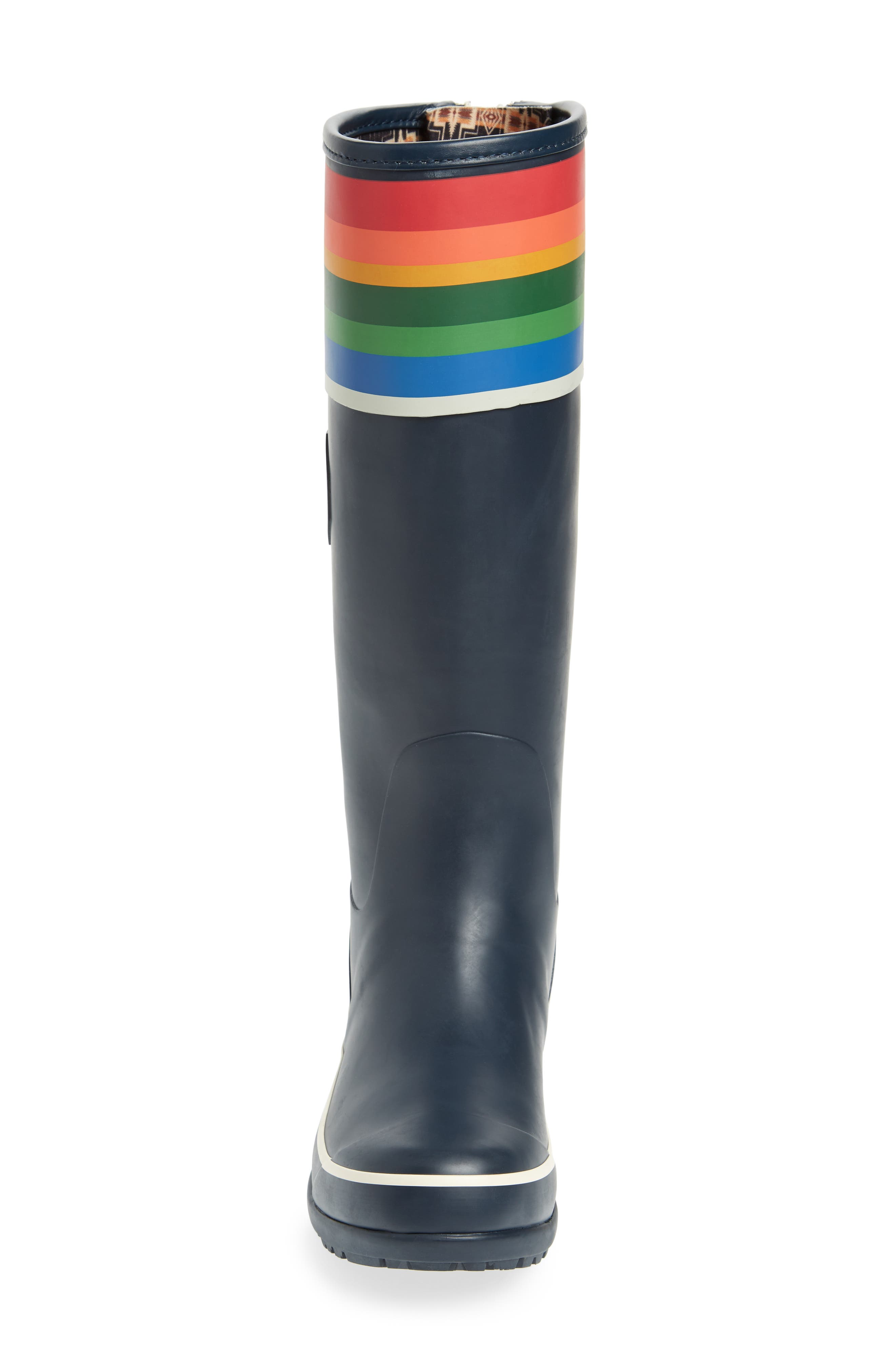 PENDLETON,                             Crater Lake National Park Tall Rain Boot,                             Alternate thumbnail 4, color,                             BLUE