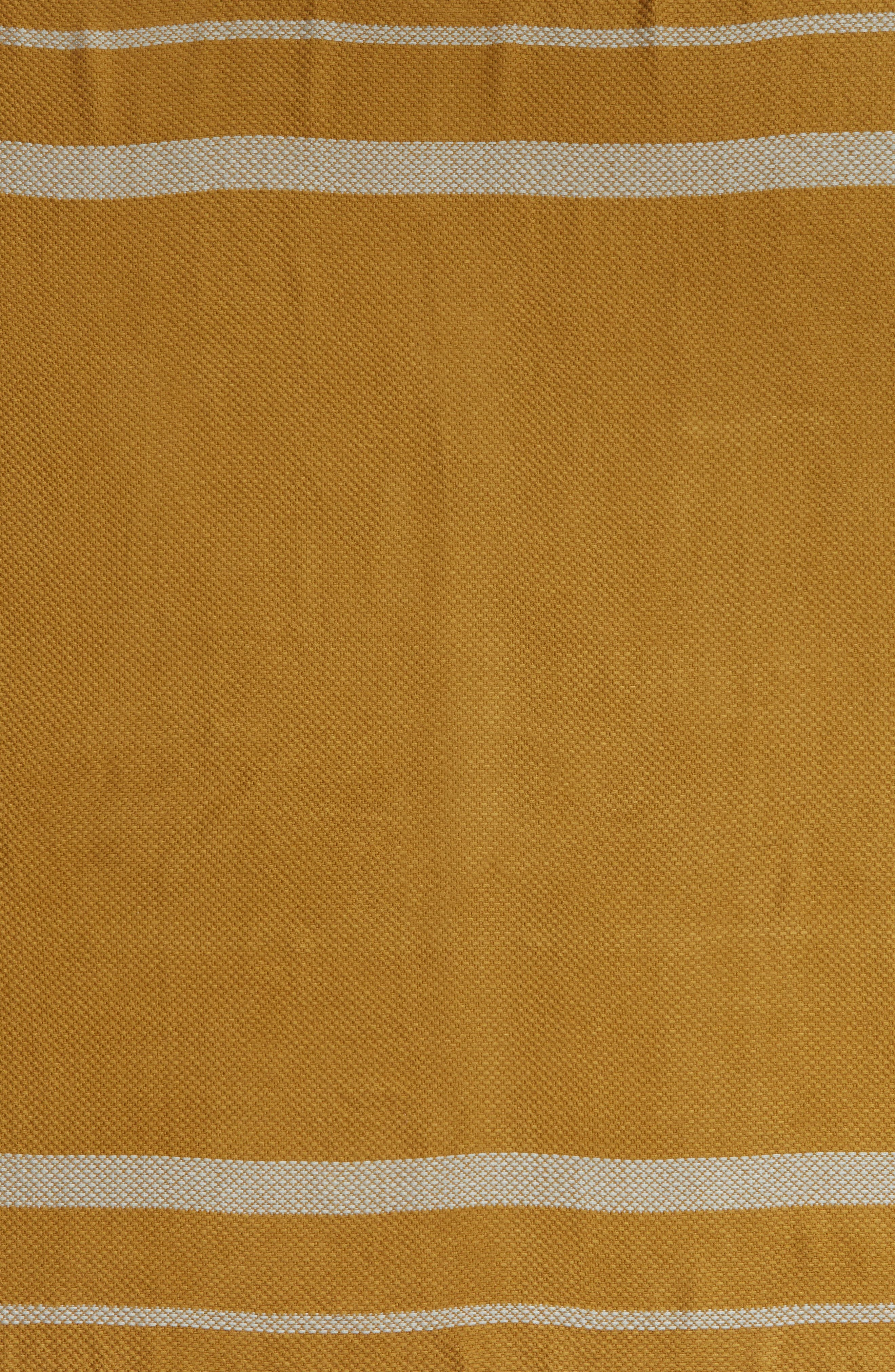 SOMETHING NAVY,                             Quad Scarf,                             Alternate thumbnail 4, color,                             CAMEL COMBO DAKOTA STRIPE