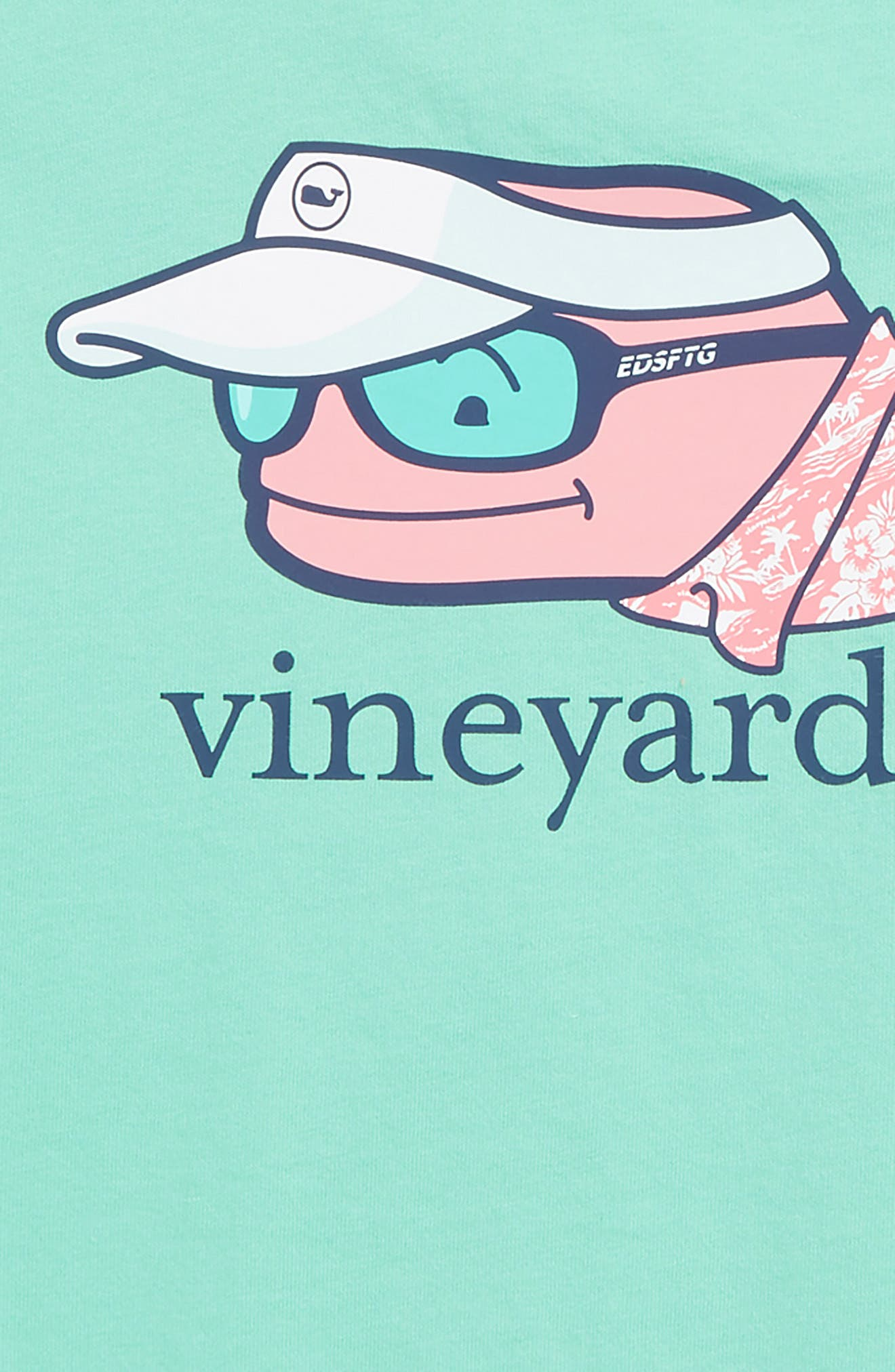 Vacation Whale Pocket T-Shirt,                             Alternate thumbnail 3, color,                             400