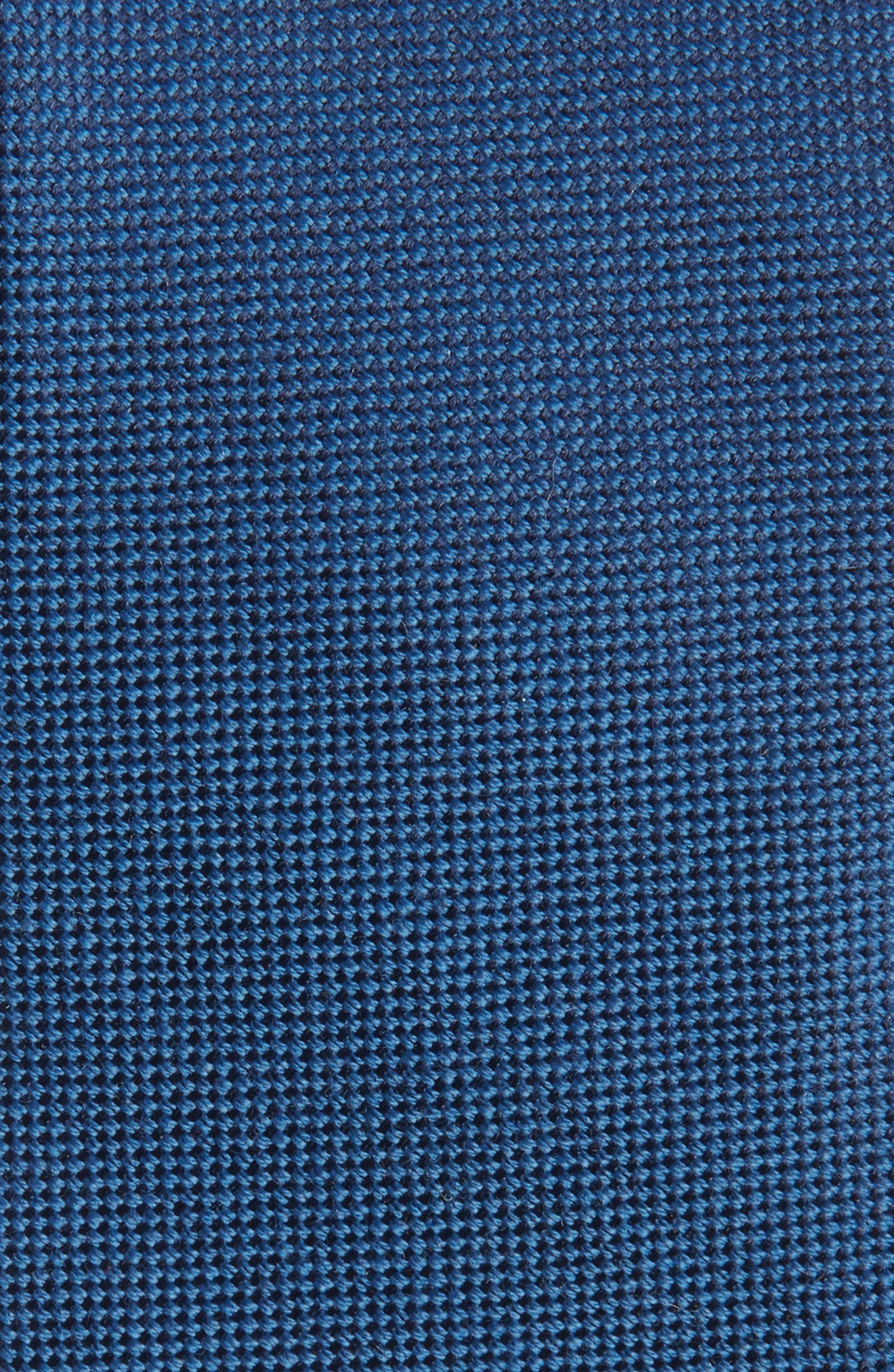 Primrose Solid Wool & Silk Tie,                             Alternate thumbnail 2, color,                             BLUE