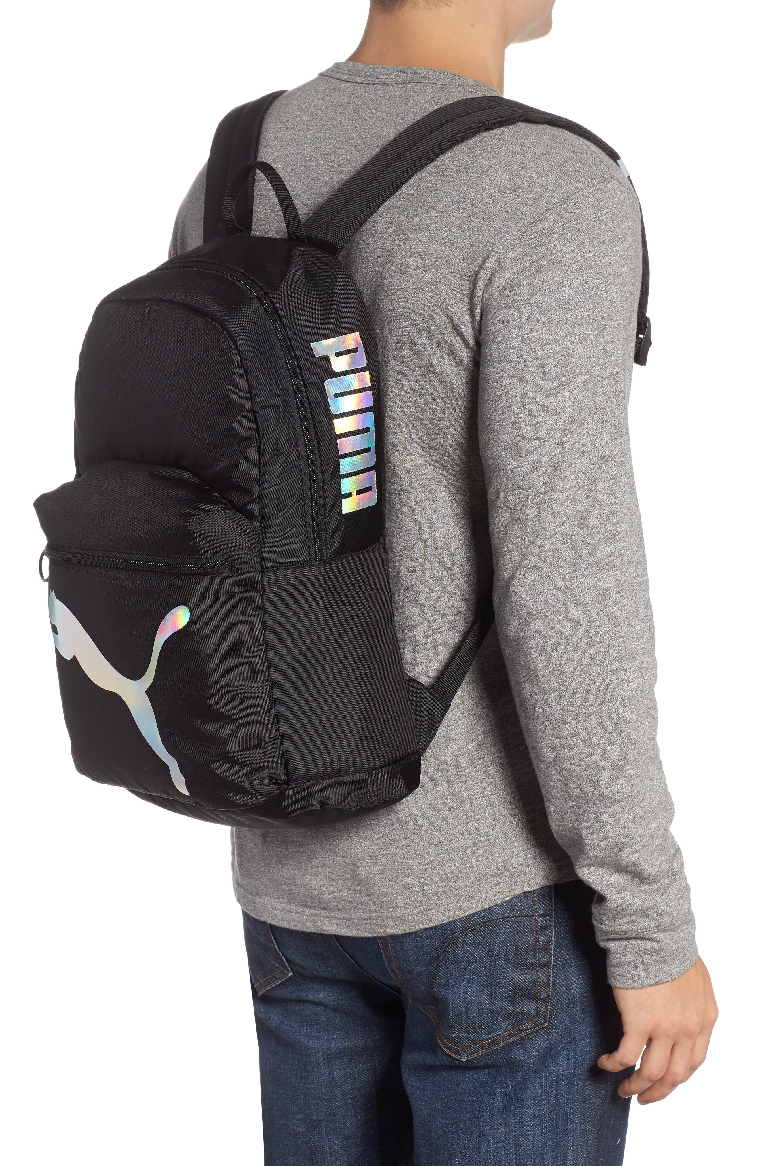 PUMA Essential Backpack, Alternate, color, BLACK