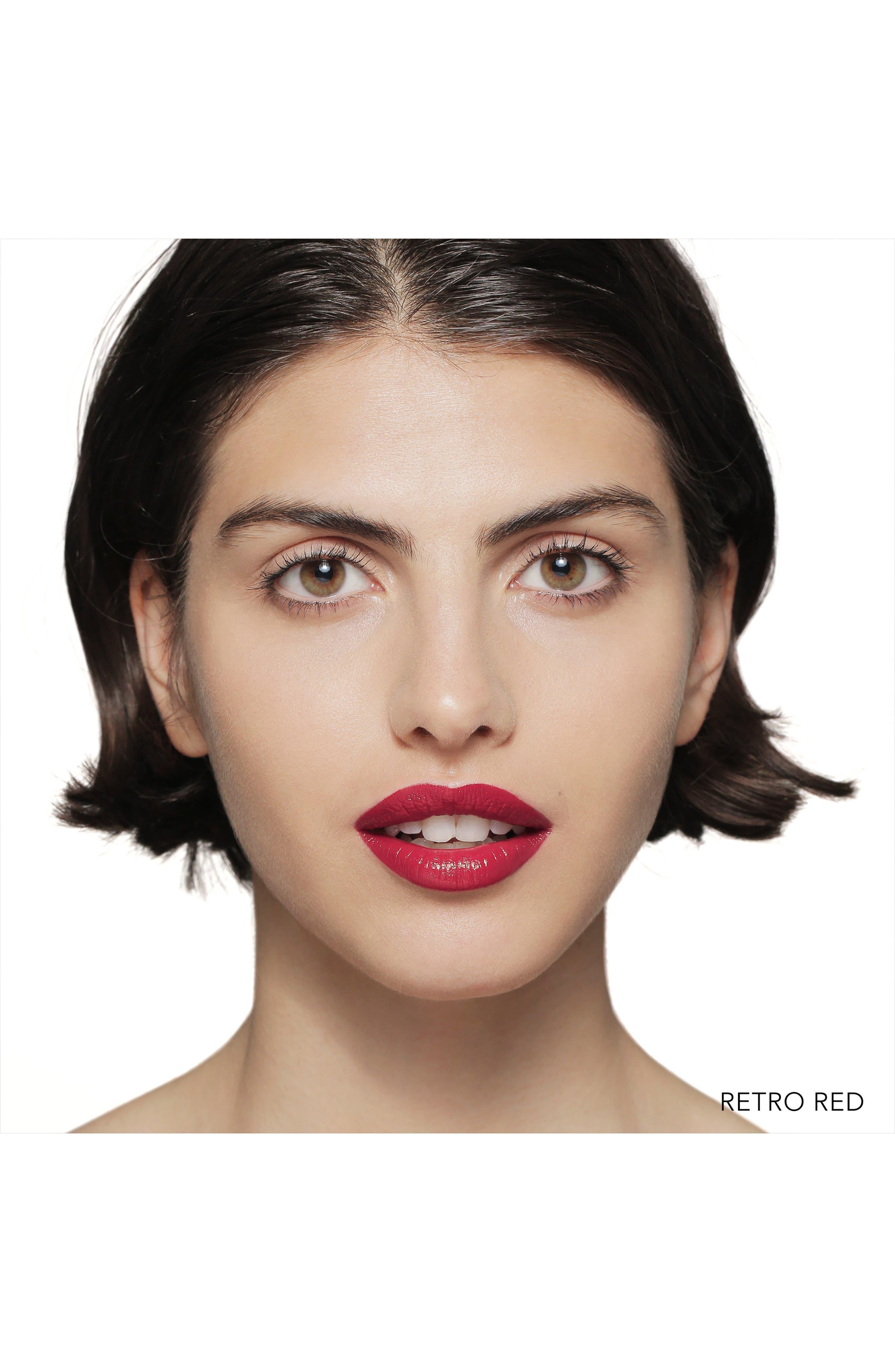 Luxe Lipstick,                             Alternate thumbnail 2, color,                             RETRO RED