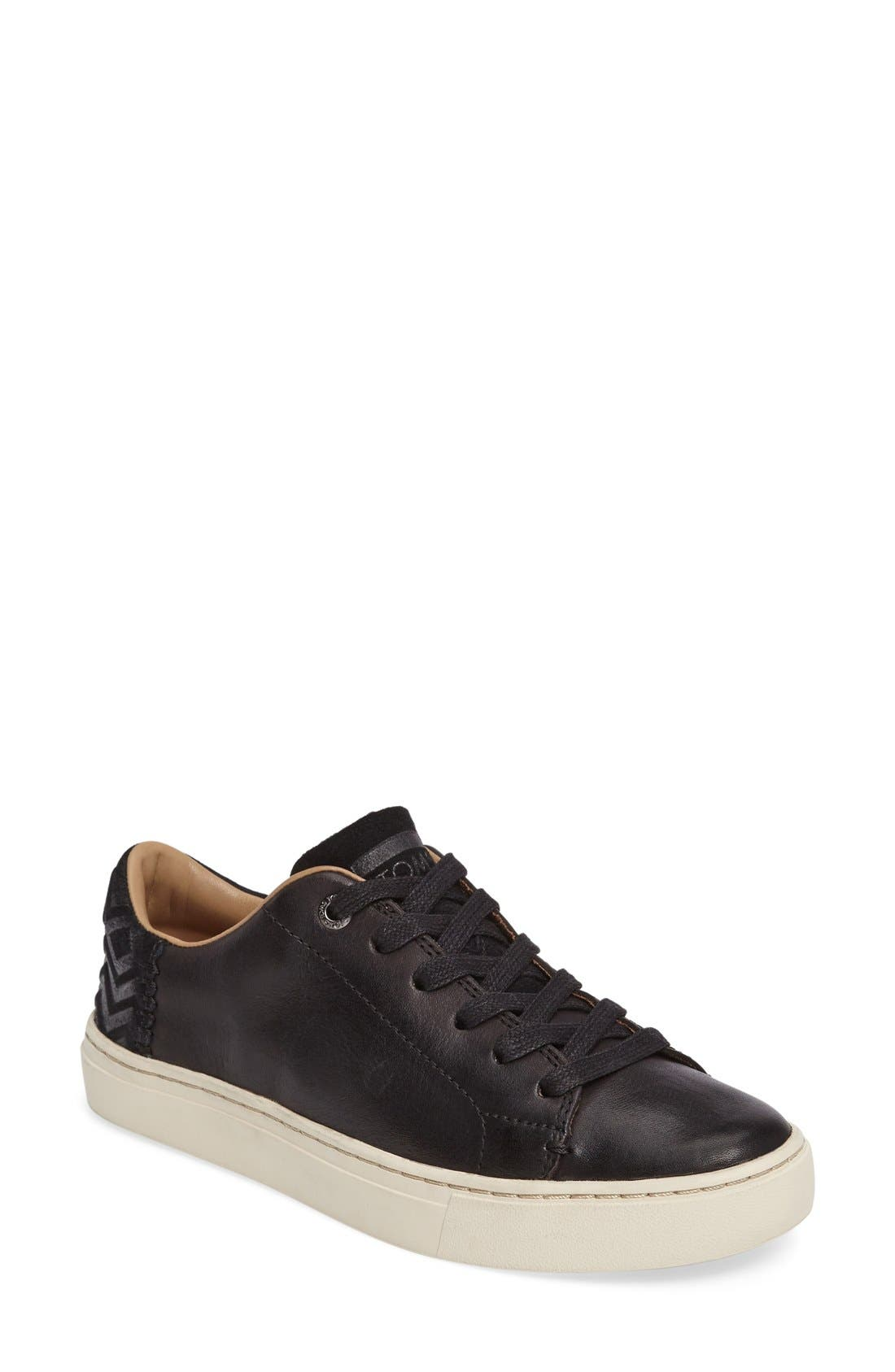 TOMS Lenox Sneaker, Main, color, 001