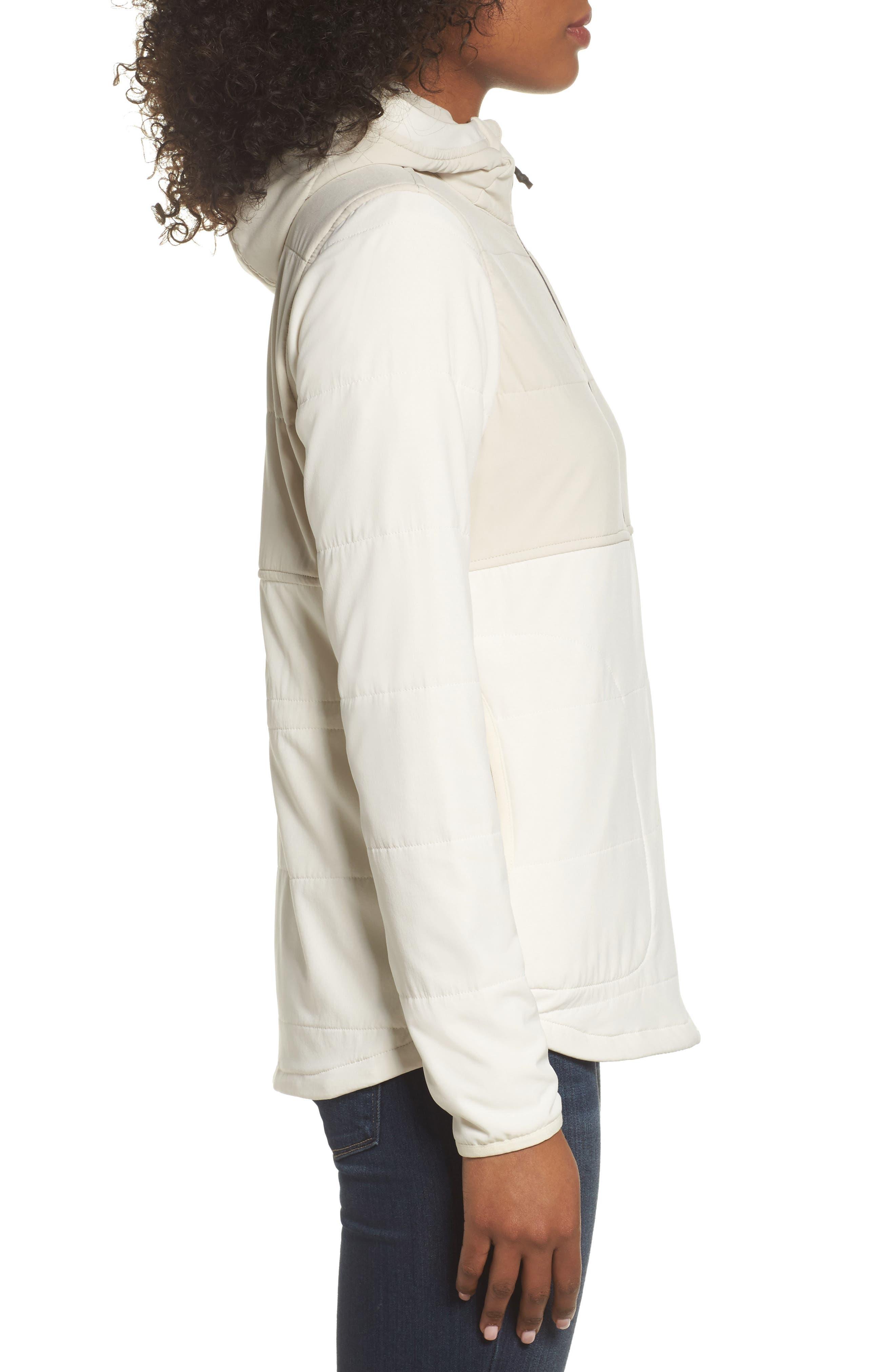 Mountain Sweatshirt Insulated Hooded Jacket,                             Alternate thumbnail 3, color,                             100