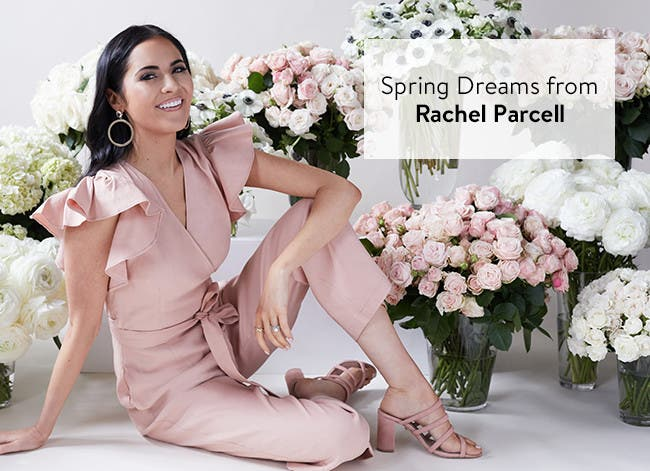 Spring dreams: Rachel Parcell clothing and accessories.