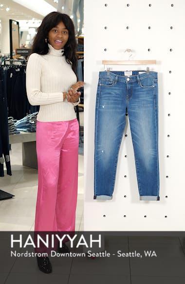 Le Garcon High Waist Ankle Slim Boyfriend Jeans, sales video thumbnail