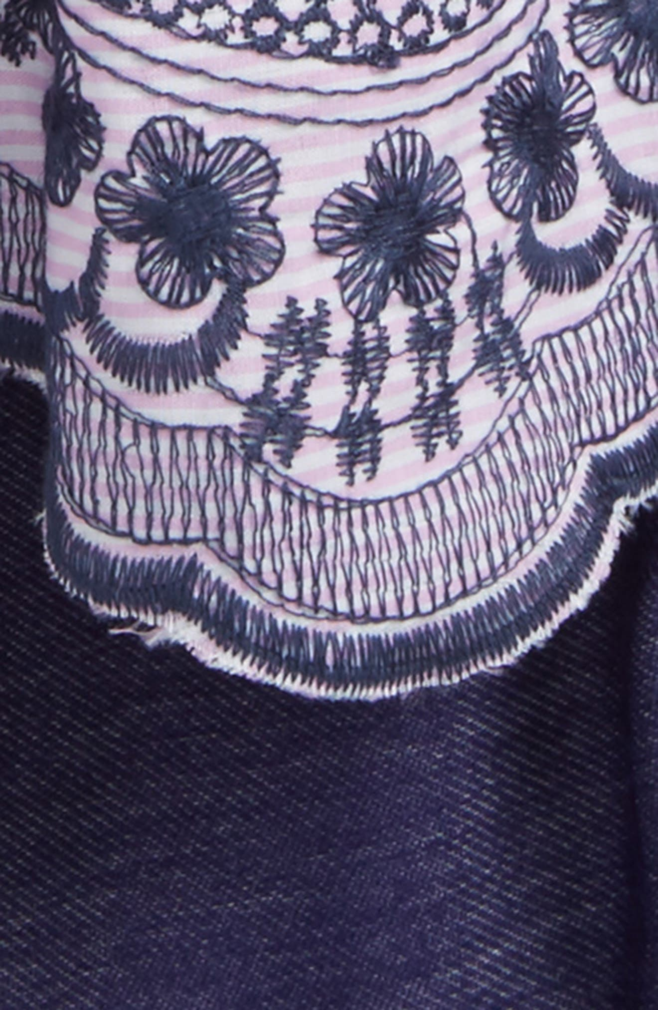 Flutter Sleeve Dress & Leggings,                             Alternate thumbnail 2, color,                             654