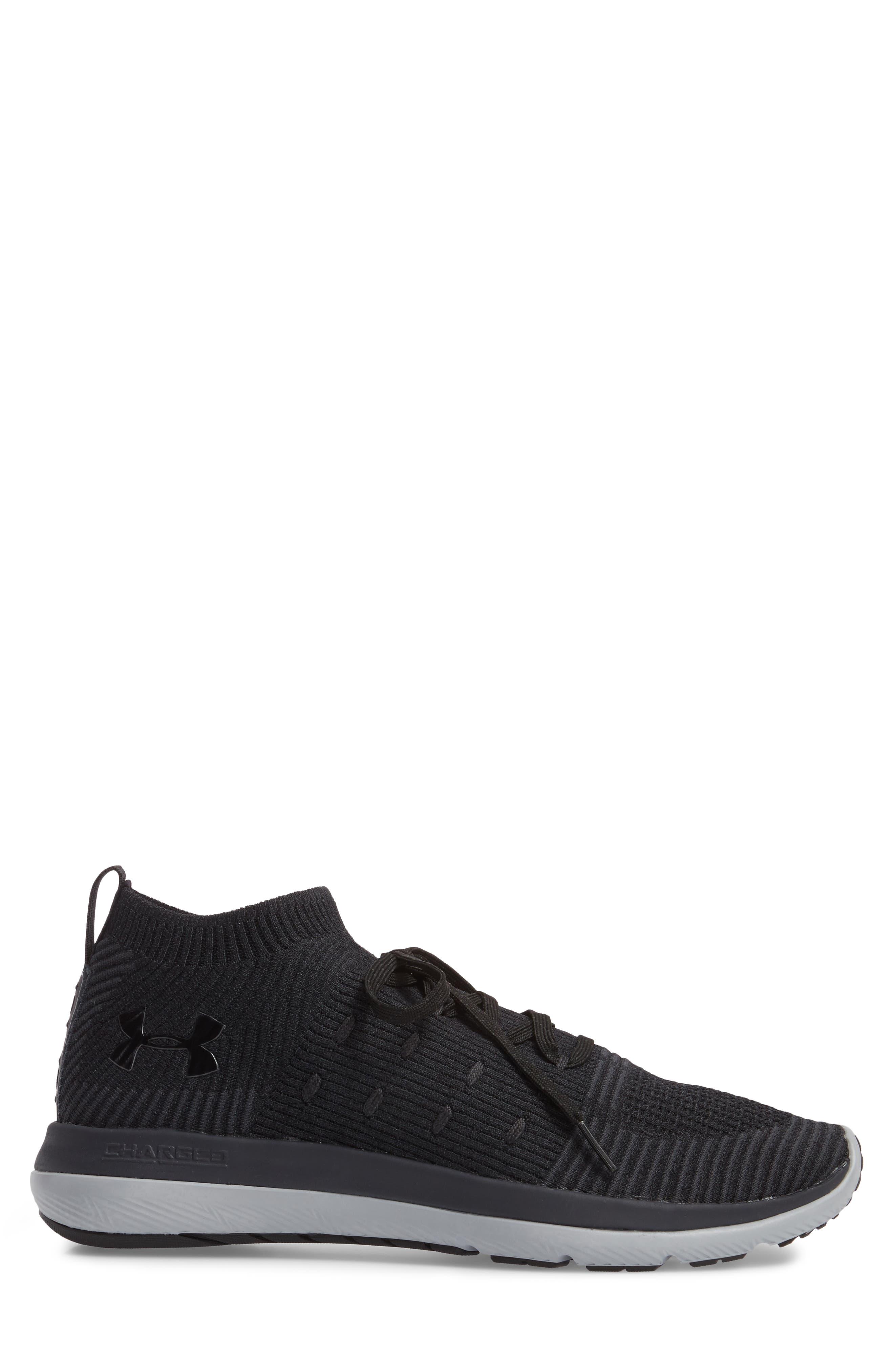 Slingflex Rise Sneaker,                             Alternate thumbnail 3, color,                             BLACK / ANTHRACITE / BLACK