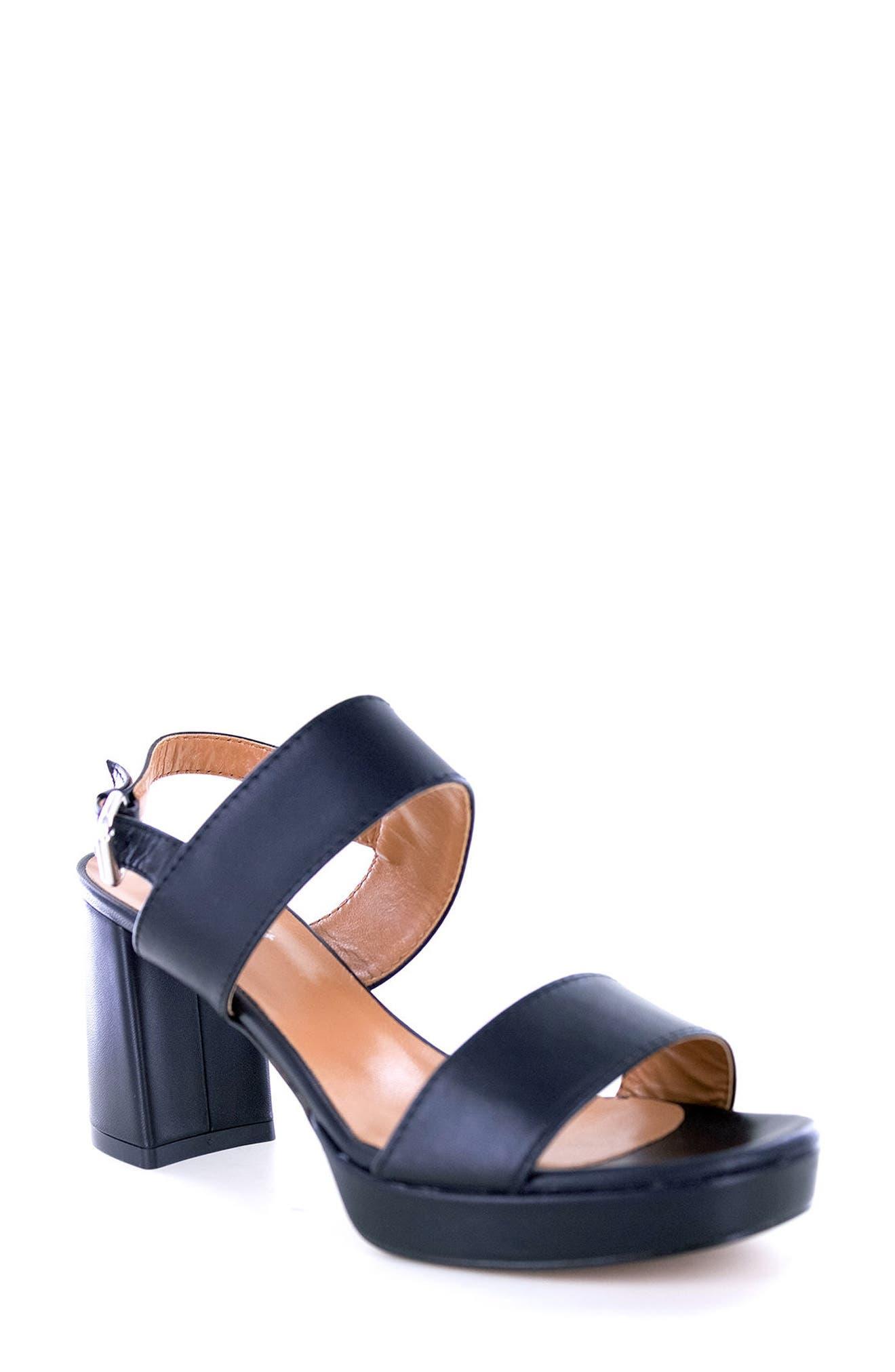 Summit Emilia Block Heel Sandal,                             Main thumbnail 1, color,