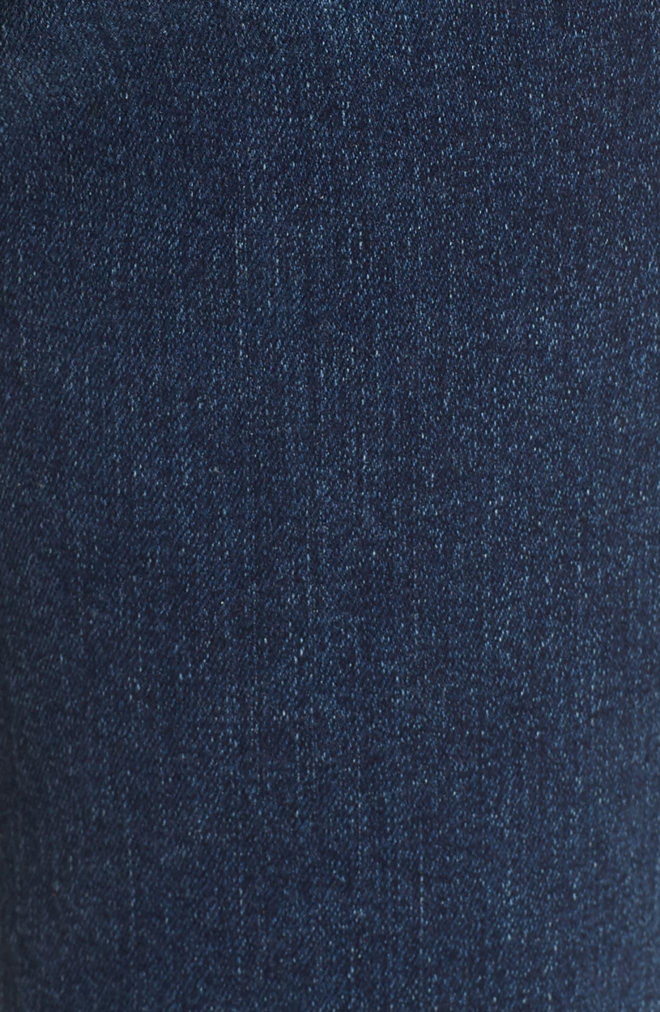 The Legging Ankle Super Skinny Jeans,                             Alternate thumbnail 6, color,                             ETHEREAL