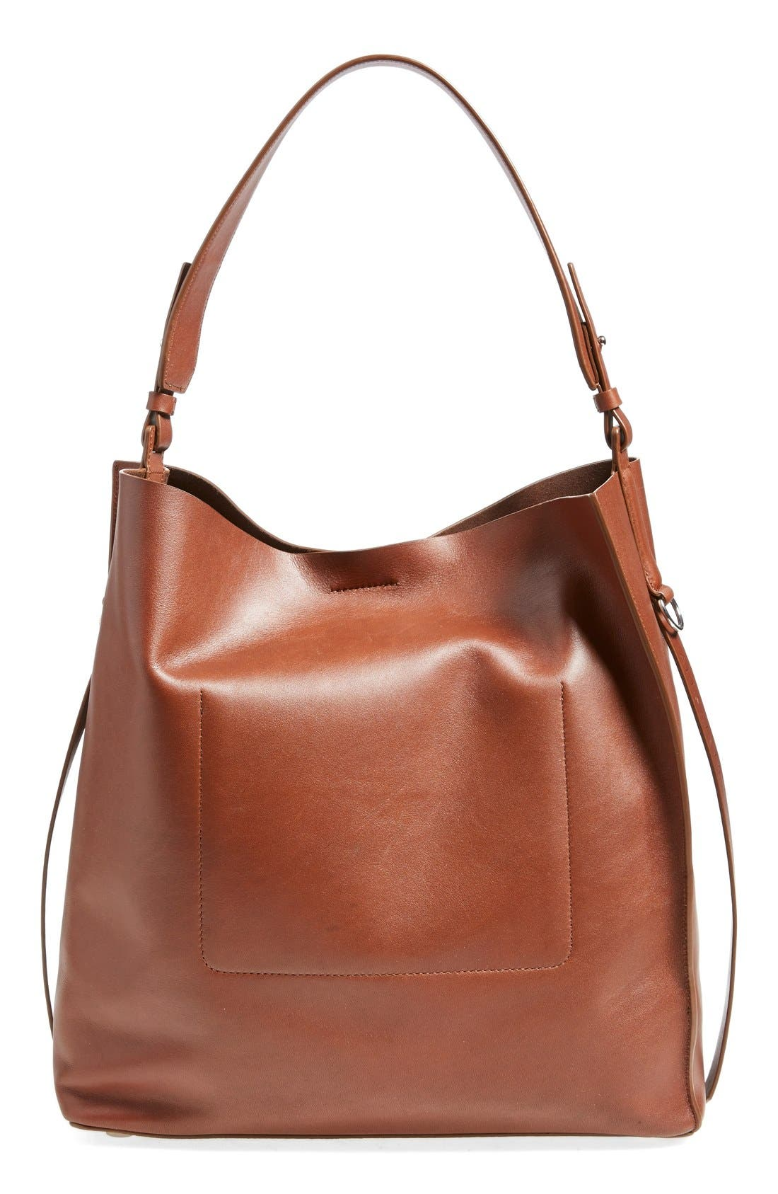 'Paradise North/South' Calfskin Leather Tote,                             Alternate thumbnail 25, color,