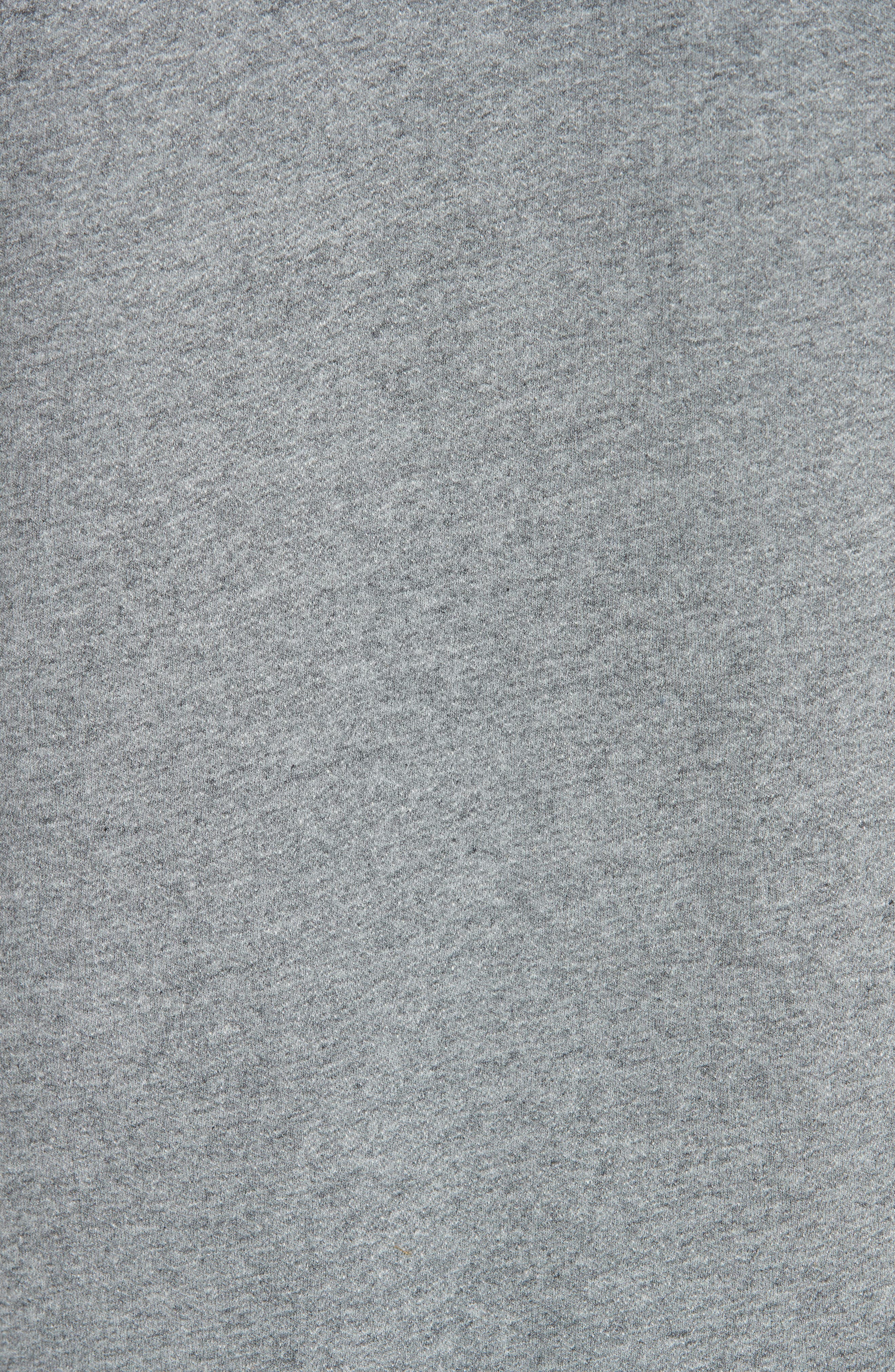 New Logo Graphic Hoodie,                             Alternate thumbnail 5, color,                             PLA GRIS