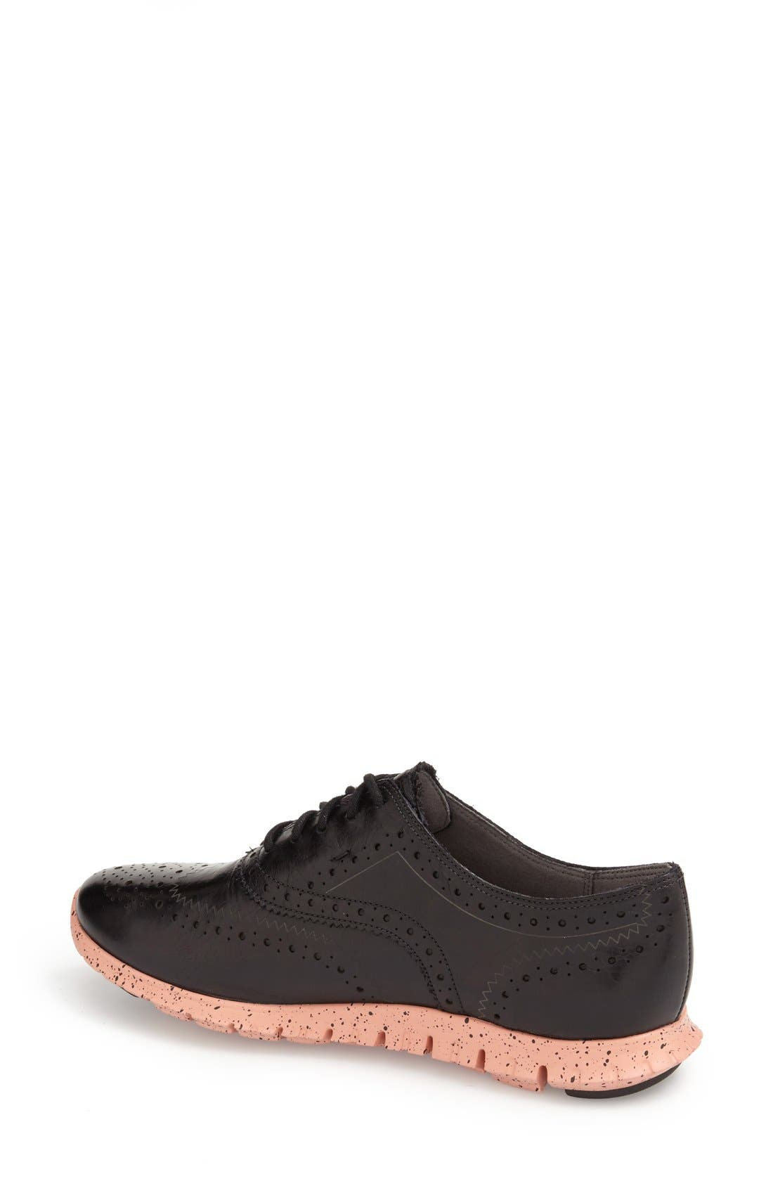 'ZeroGrand' Perforated Wingtip,                             Alternate thumbnail 38, color,