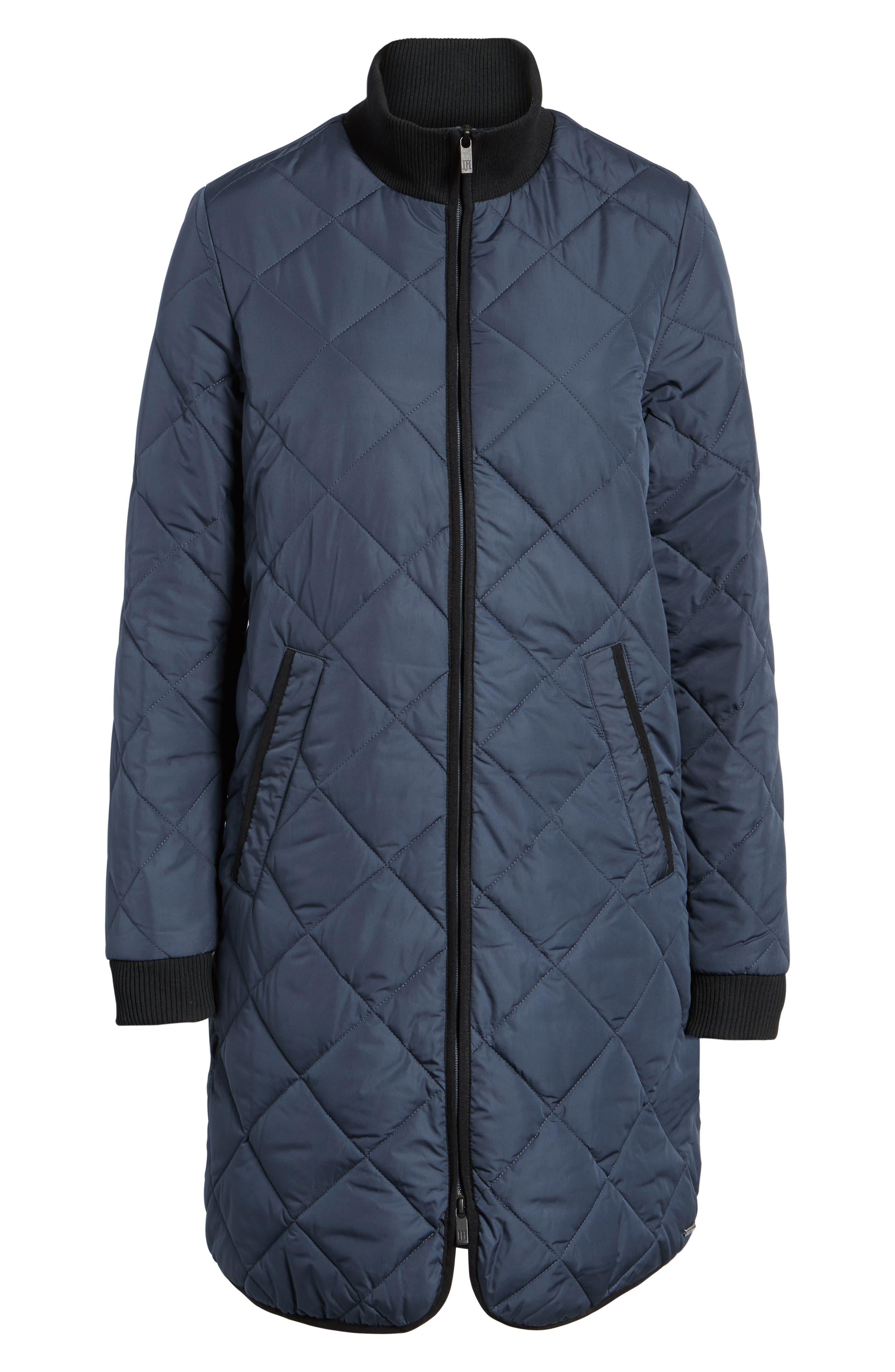 IIse Jacobsen Hornbaek Quilted Coat,                             Alternate thumbnail 5, color,                             401