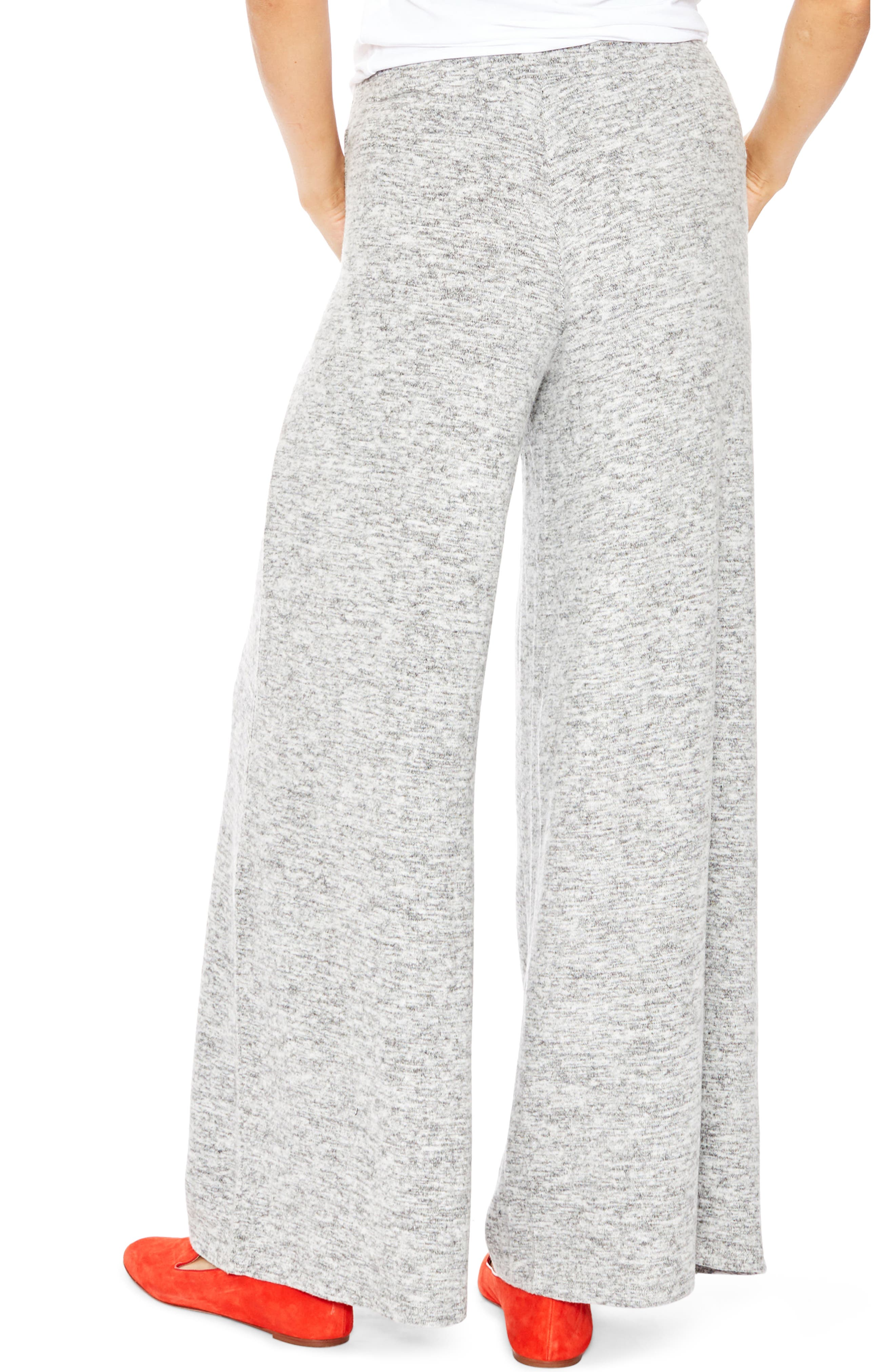 Riley Maternity Sweatpants,                             Alternate thumbnail 2, color,                             GREY MELANGE