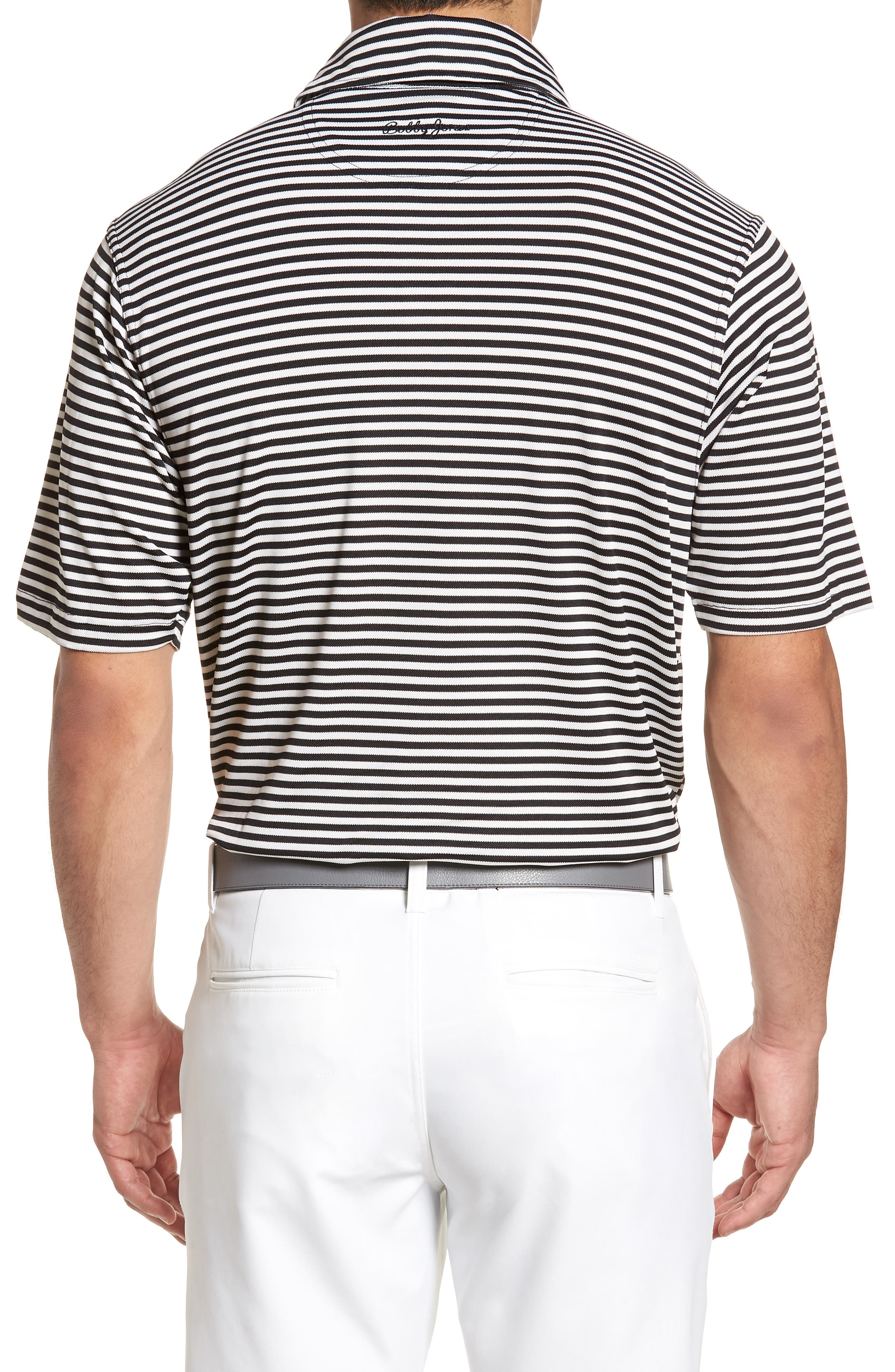 XH2O Feed Stripe Stretch Golf Polo,                             Alternate thumbnail 20, color,
