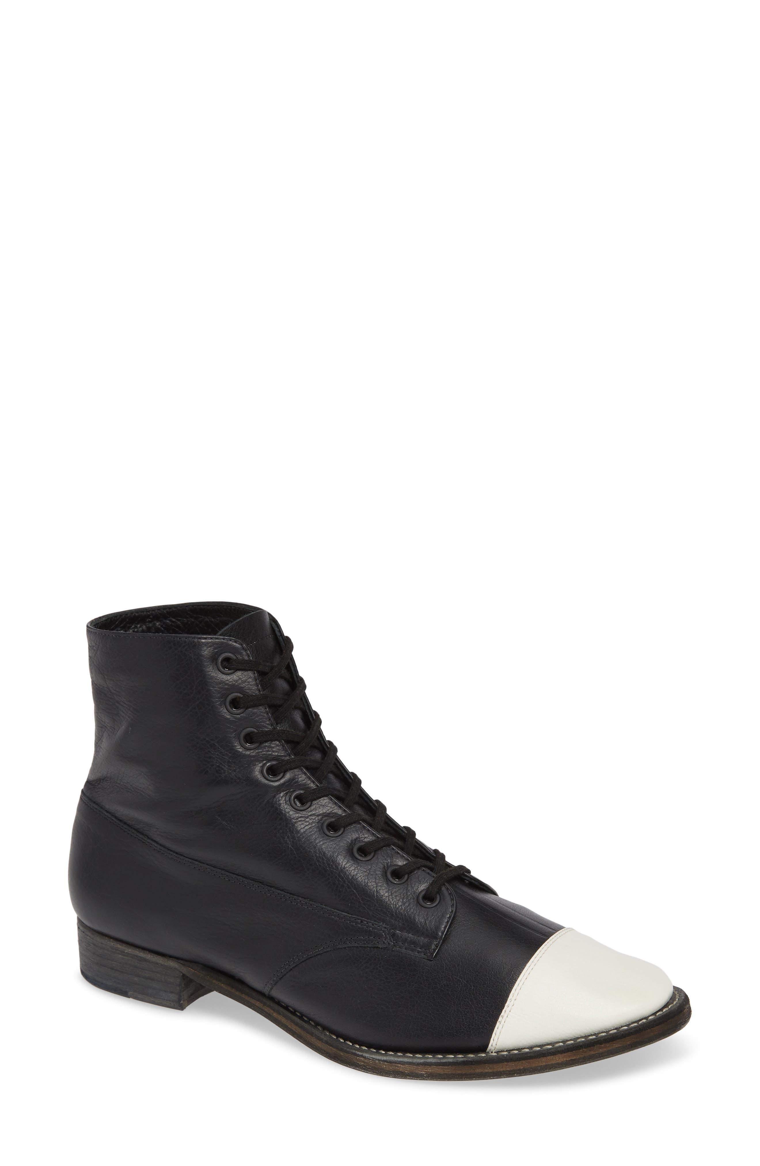 Boxcar Cap-Toe Boot,                         Main,                         color, BLACK