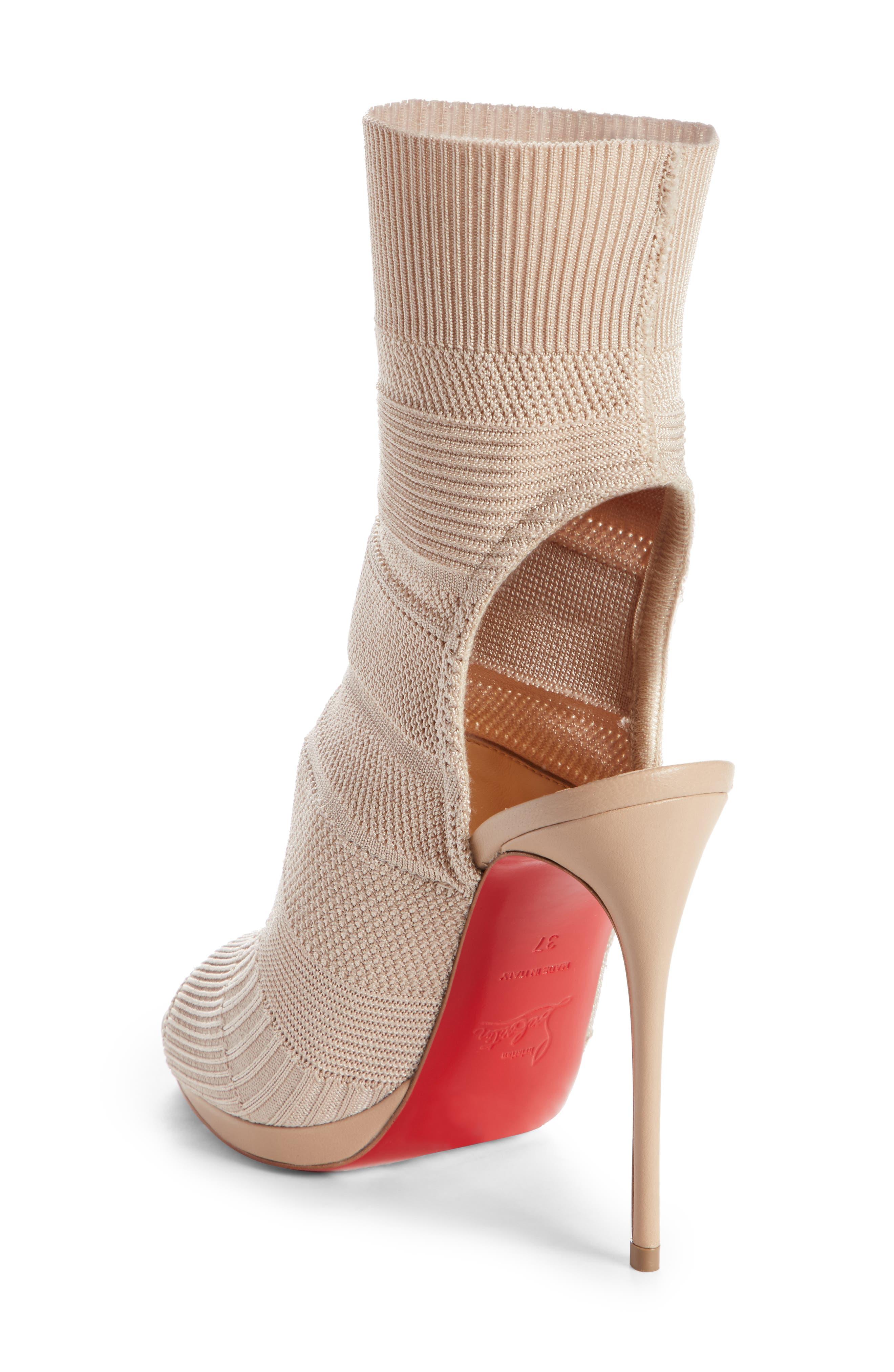 Cheminene Sock Sandal,                             Alternate thumbnail 4, color,