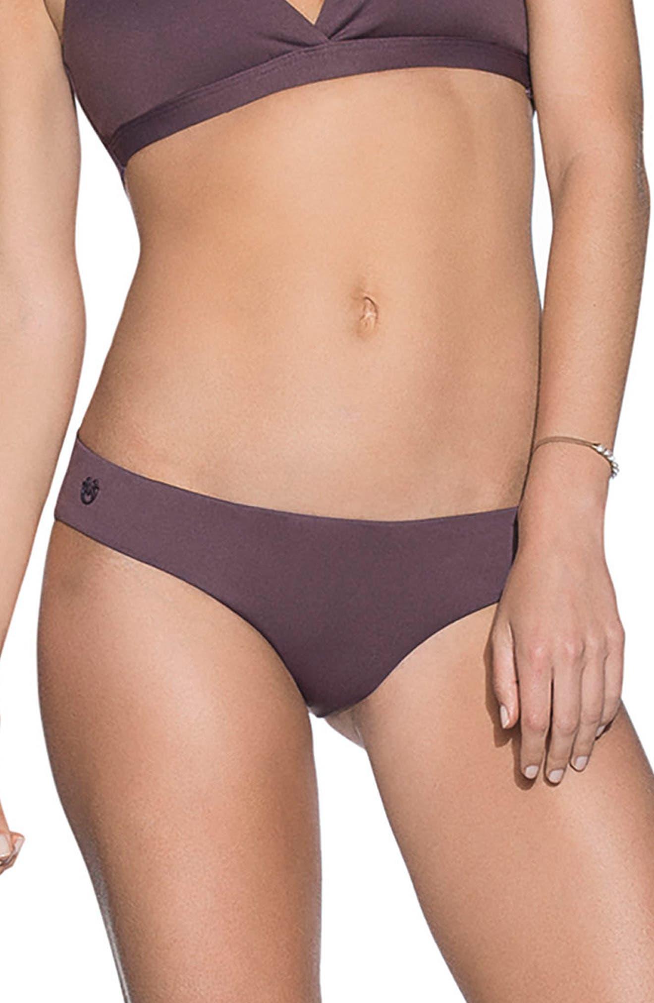 Fig Sublime Signature Cut Reversible Bikini Bottoms,                             Main thumbnail 1, color,