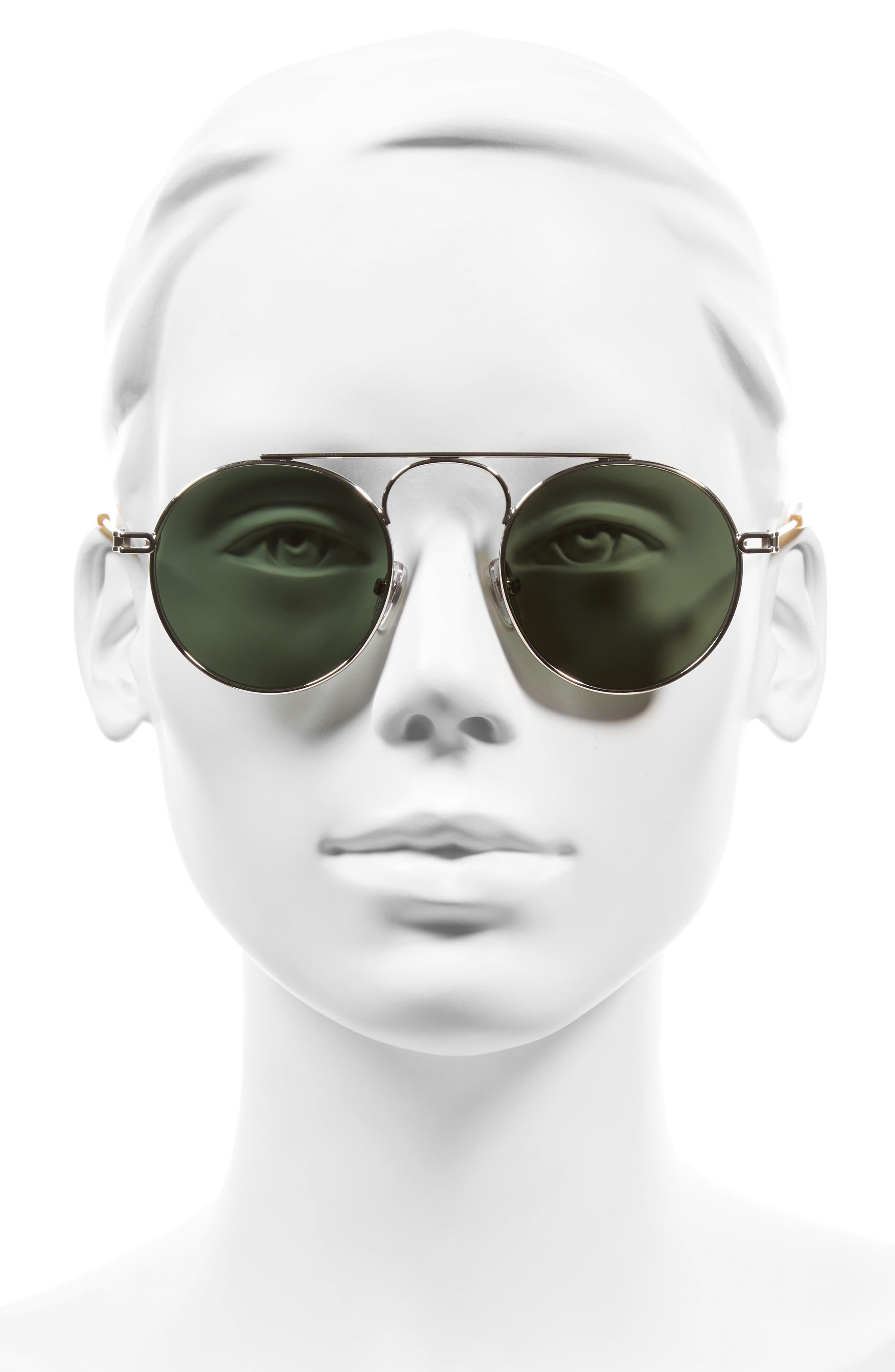 48mm Round Sunglasses,                             Alternate thumbnail 2, color,                             043