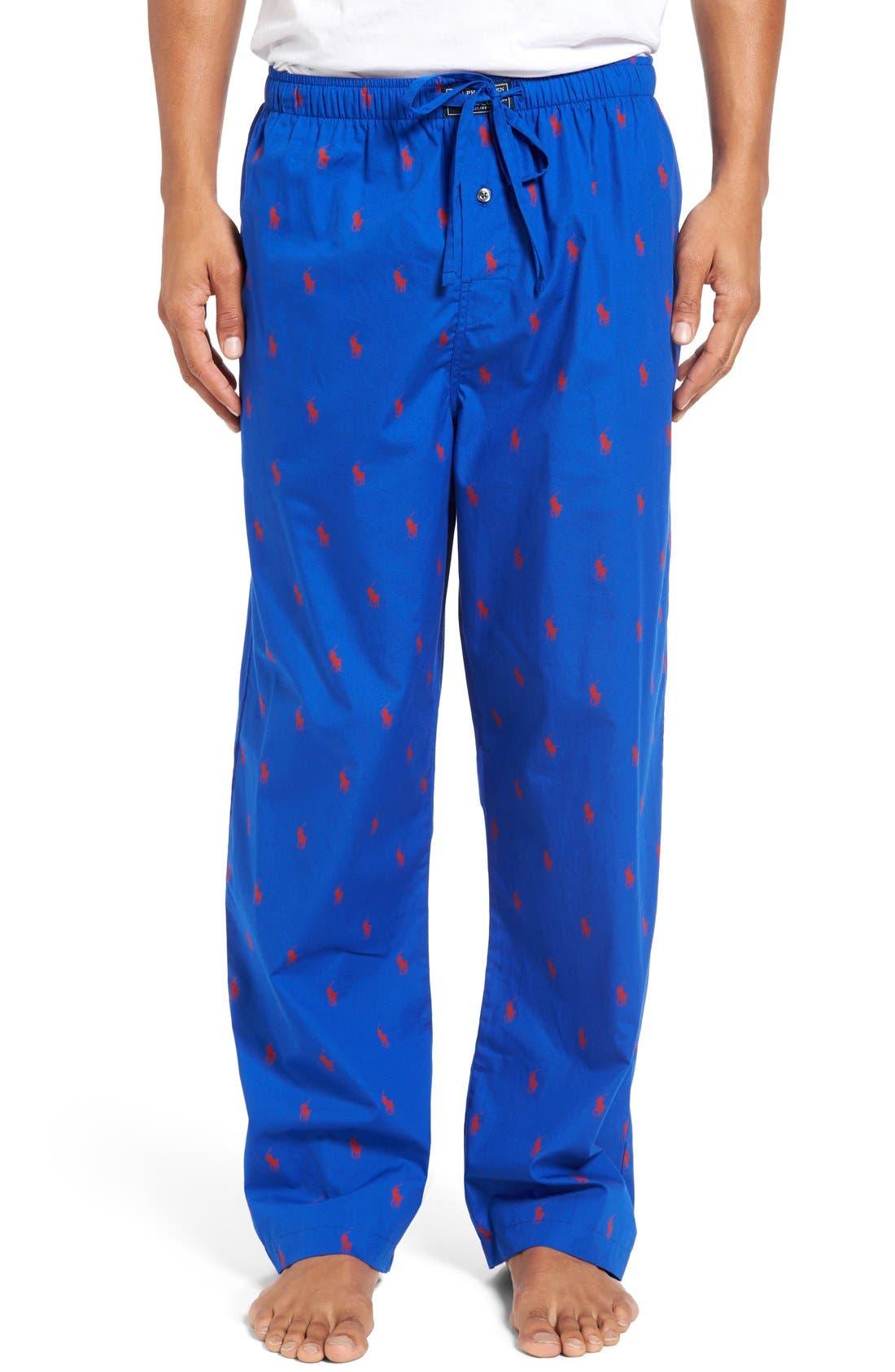 Cotton Lounge Pants,                             Main thumbnail 8, color,