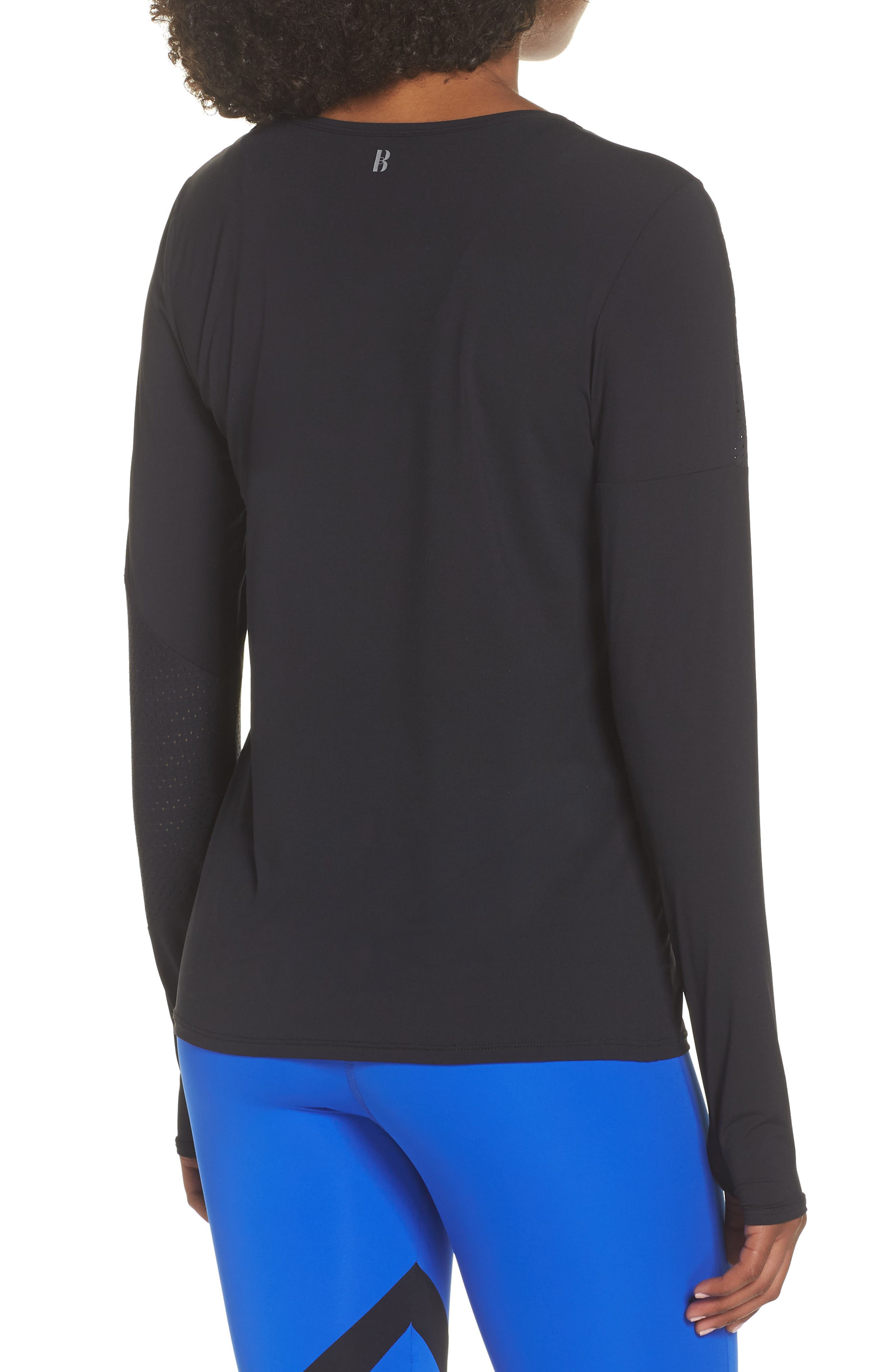 BoomBoom Athletica Easy Tunic,                             Alternate thumbnail 2, color,                             BLACK