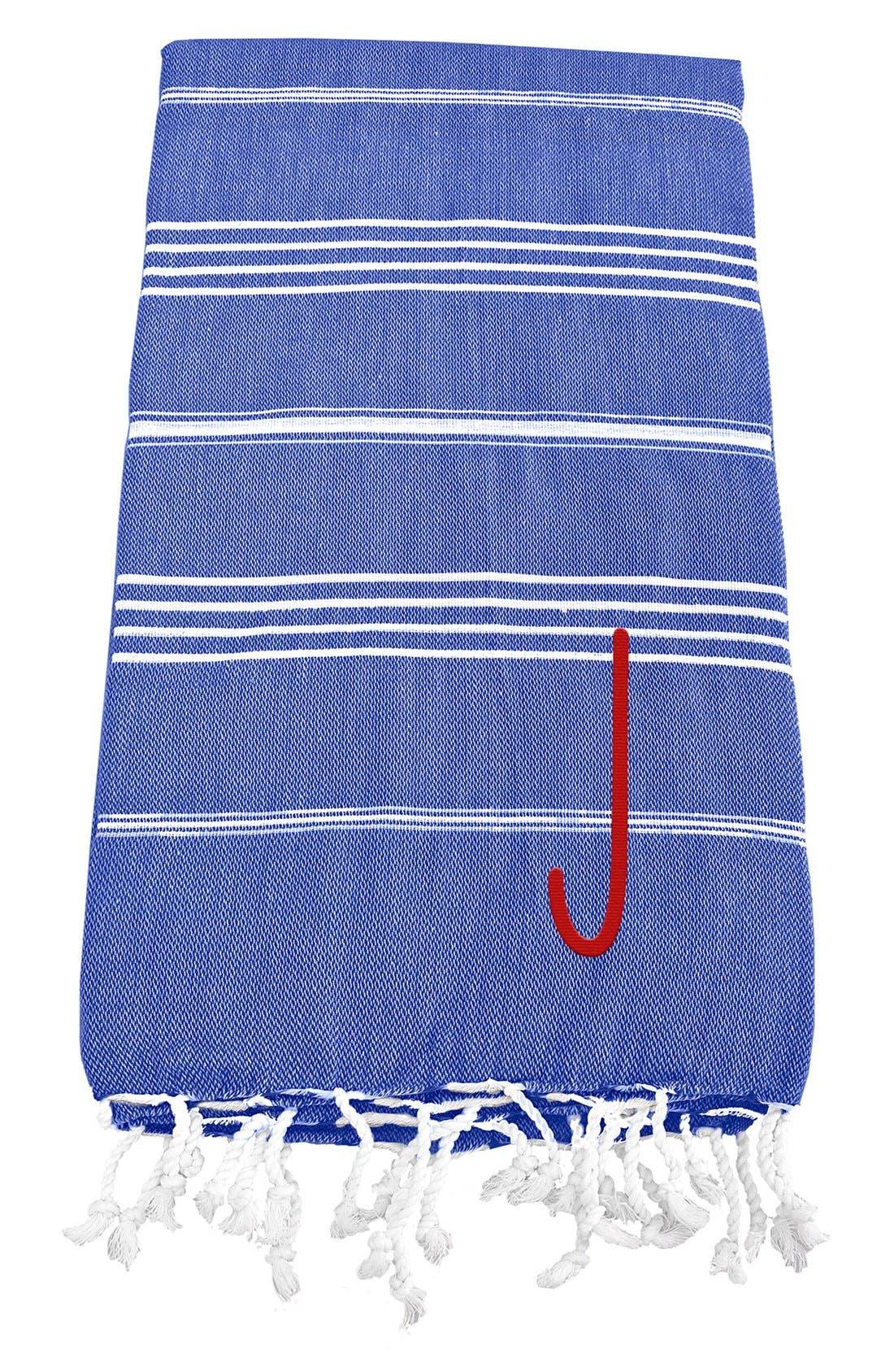 Monogram Turkish Cotton Towel,                             Main thumbnail 66, color,