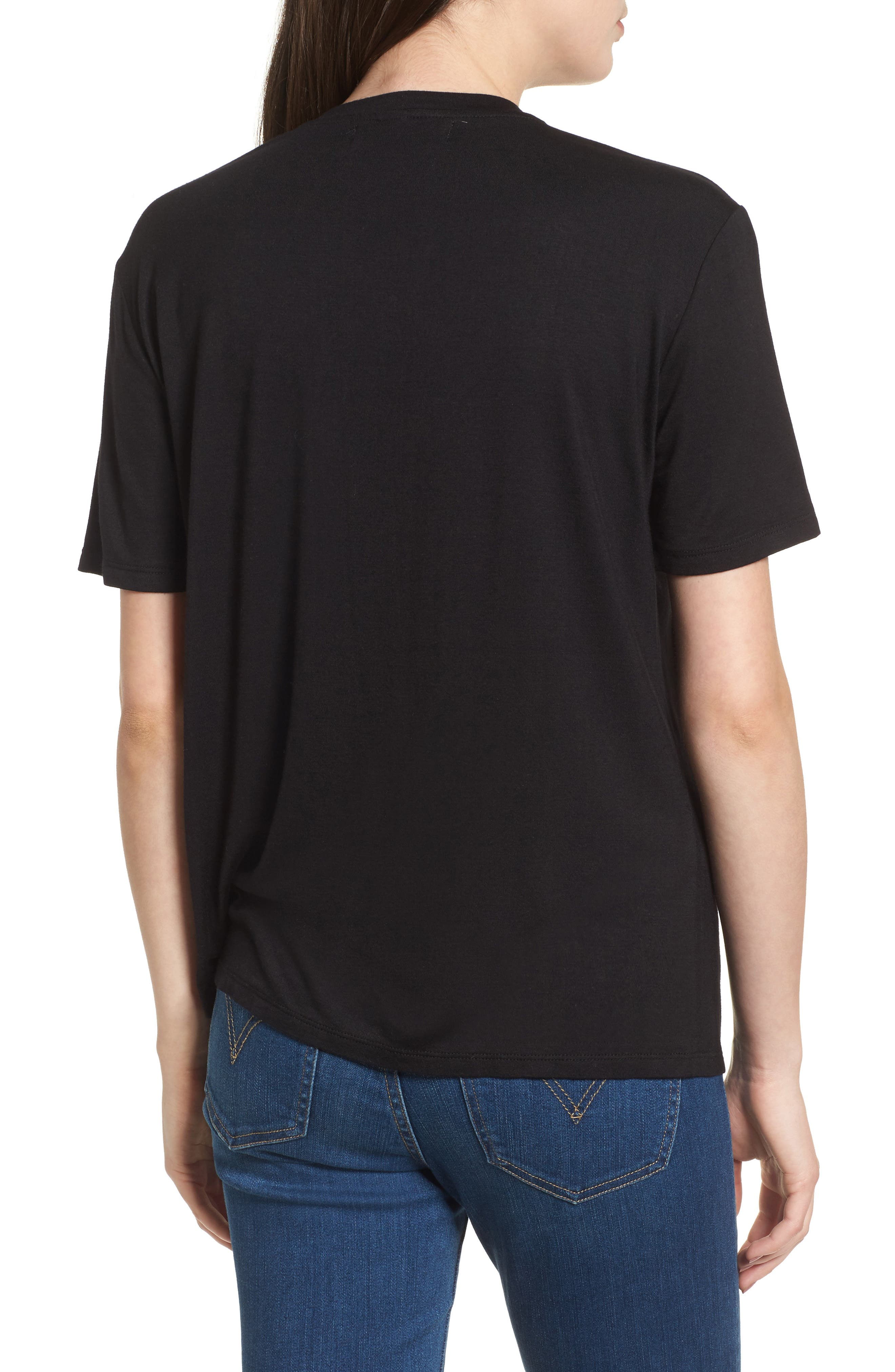 Floral Tee,                             Alternate thumbnail 2, color,