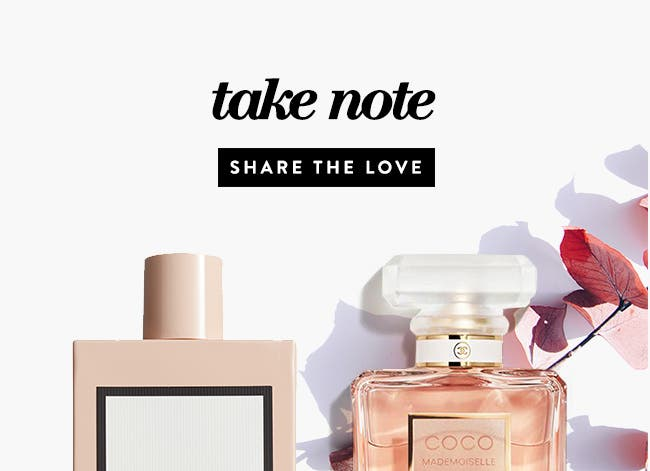 Take Note: Share the Love: This month, revel in the maternal energy all around you and treat the mothers in your life to an uplifting scent.