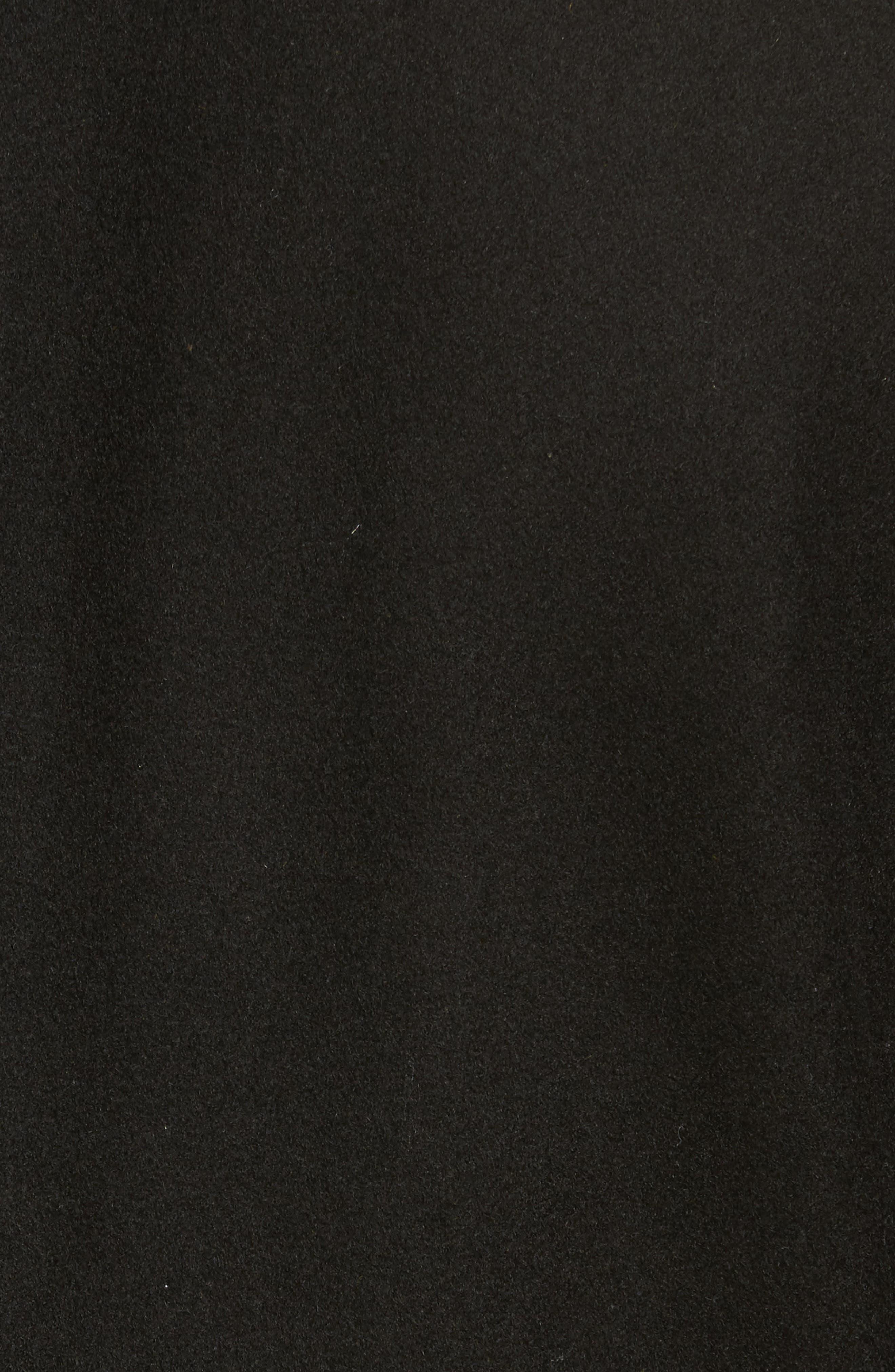 Wool Blend Overcoat,                             Alternate thumbnail 6, color,                             001