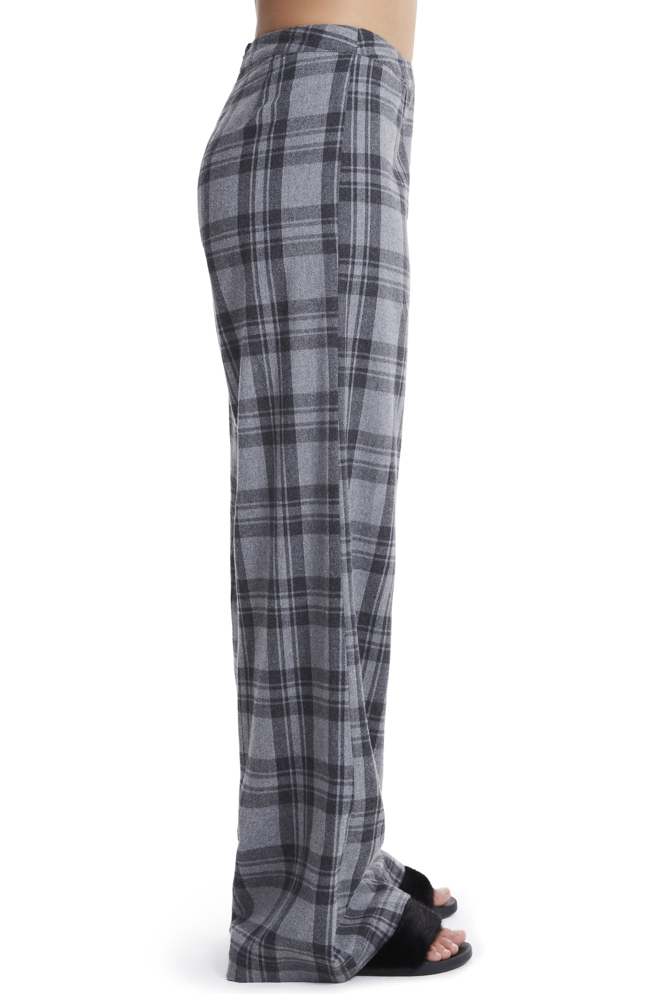 Carter High Waist Wide Leg Pants,                             Alternate thumbnail 3, color,