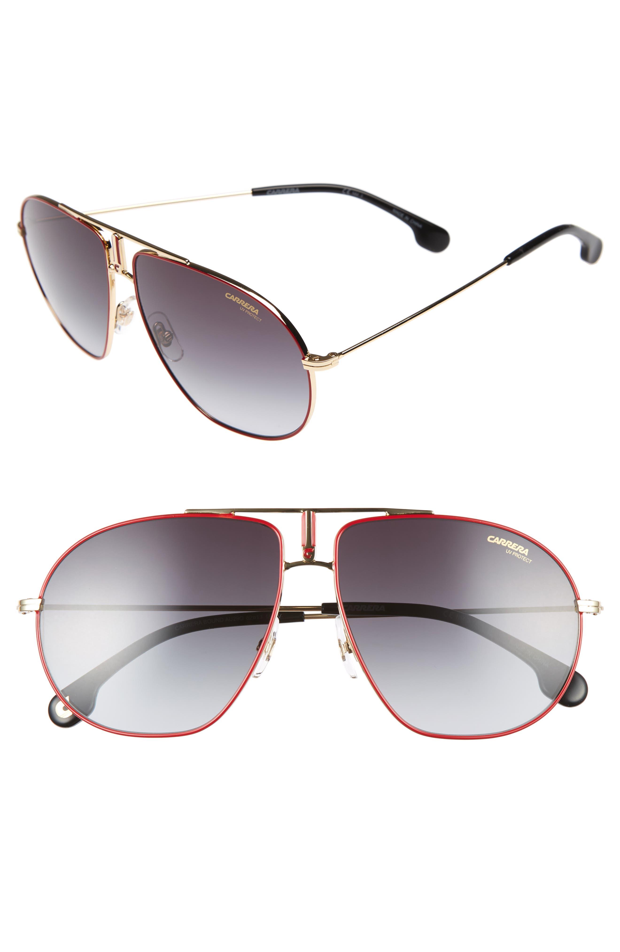 Carrera Eyewear Bounds 60Mm Gradient Aviator Sunglasses -