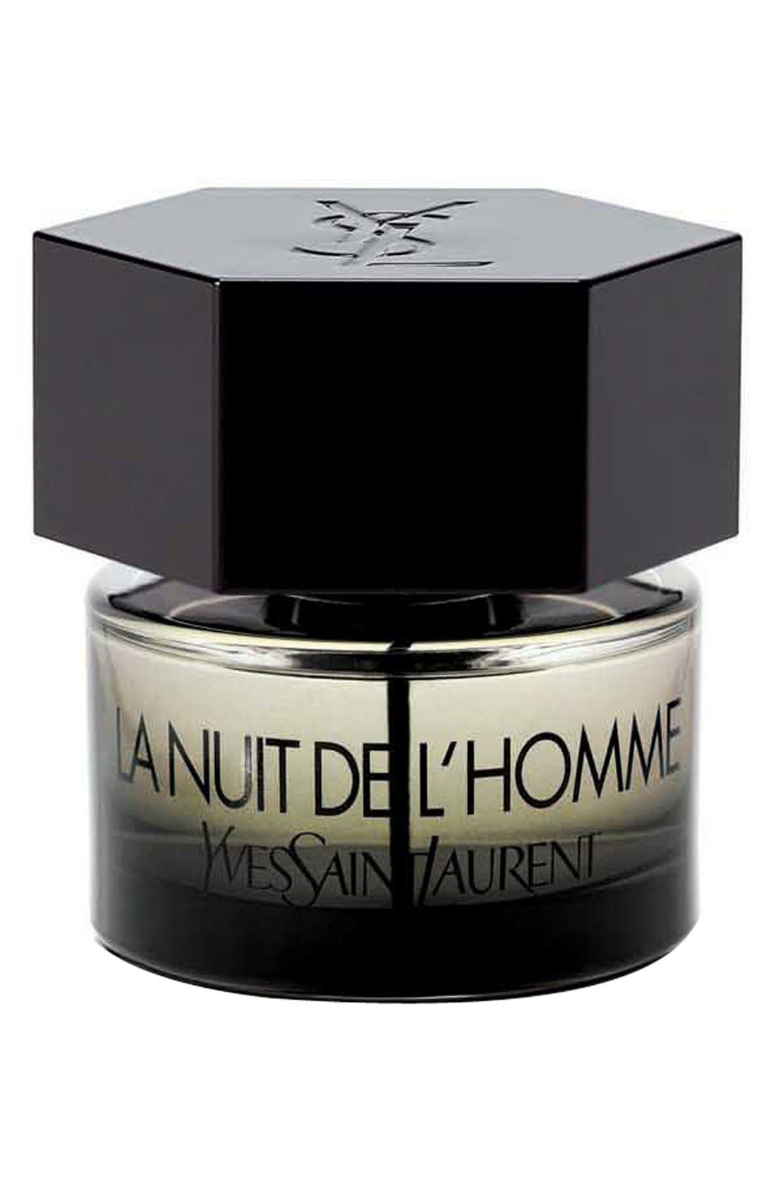 'La Nuit de l'Homme' Eau de Toilette,                             Alternate thumbnail 4, color,                             NO COLOR
