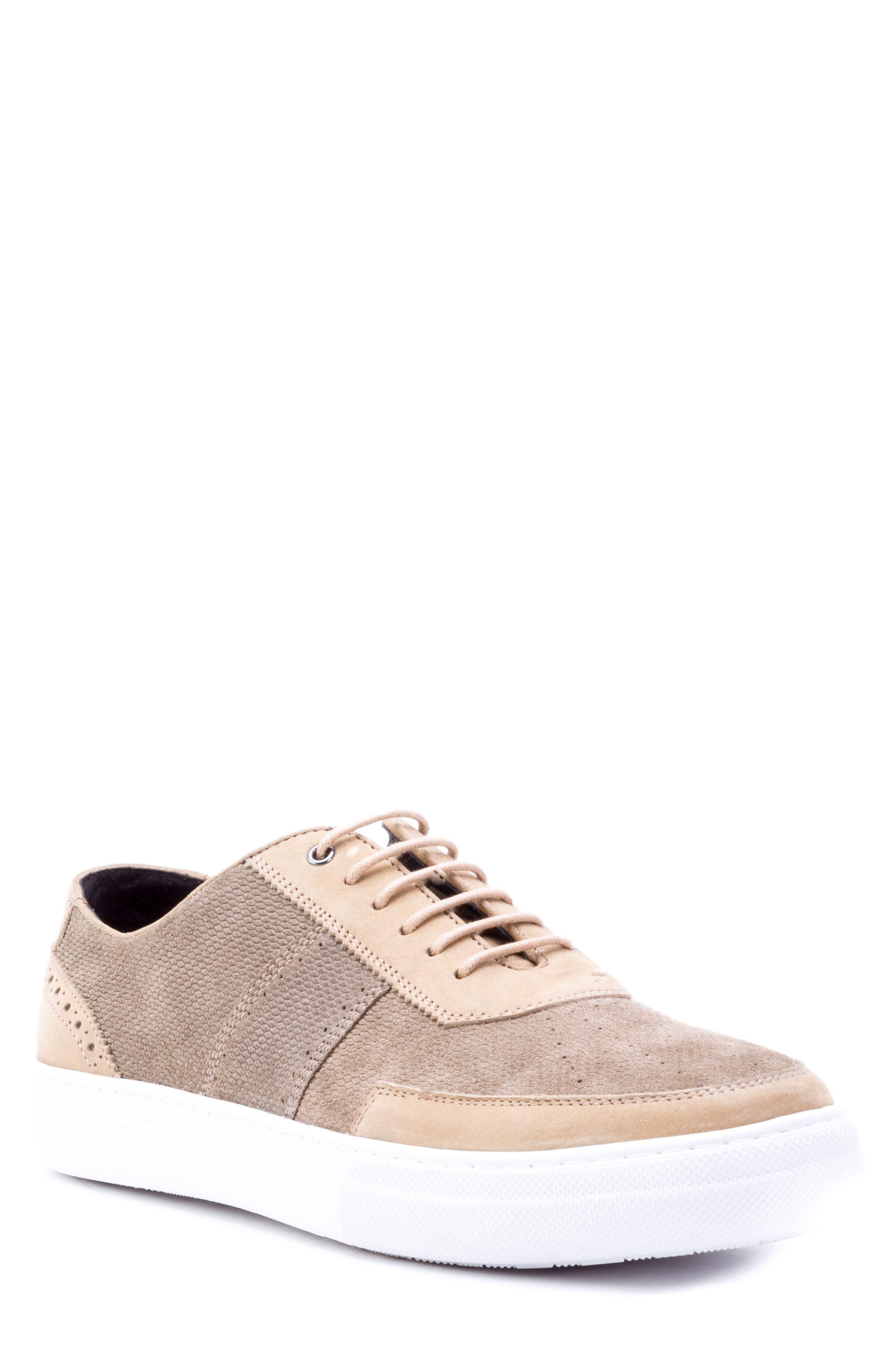 Zanzara House Low Top Sneaker- Beige