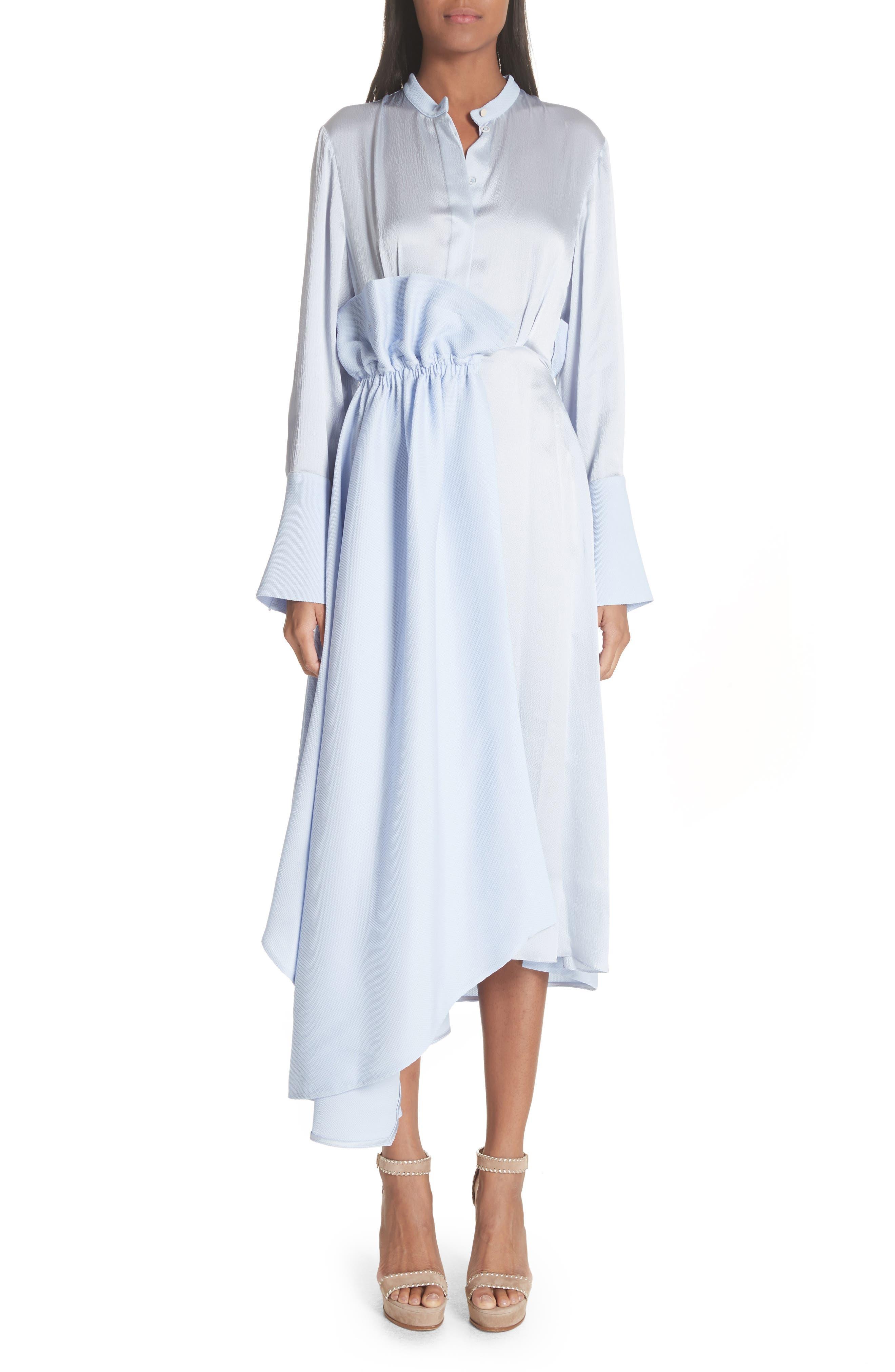 Micah Silk Dress,                             Main thumbnail 1, color,                             400