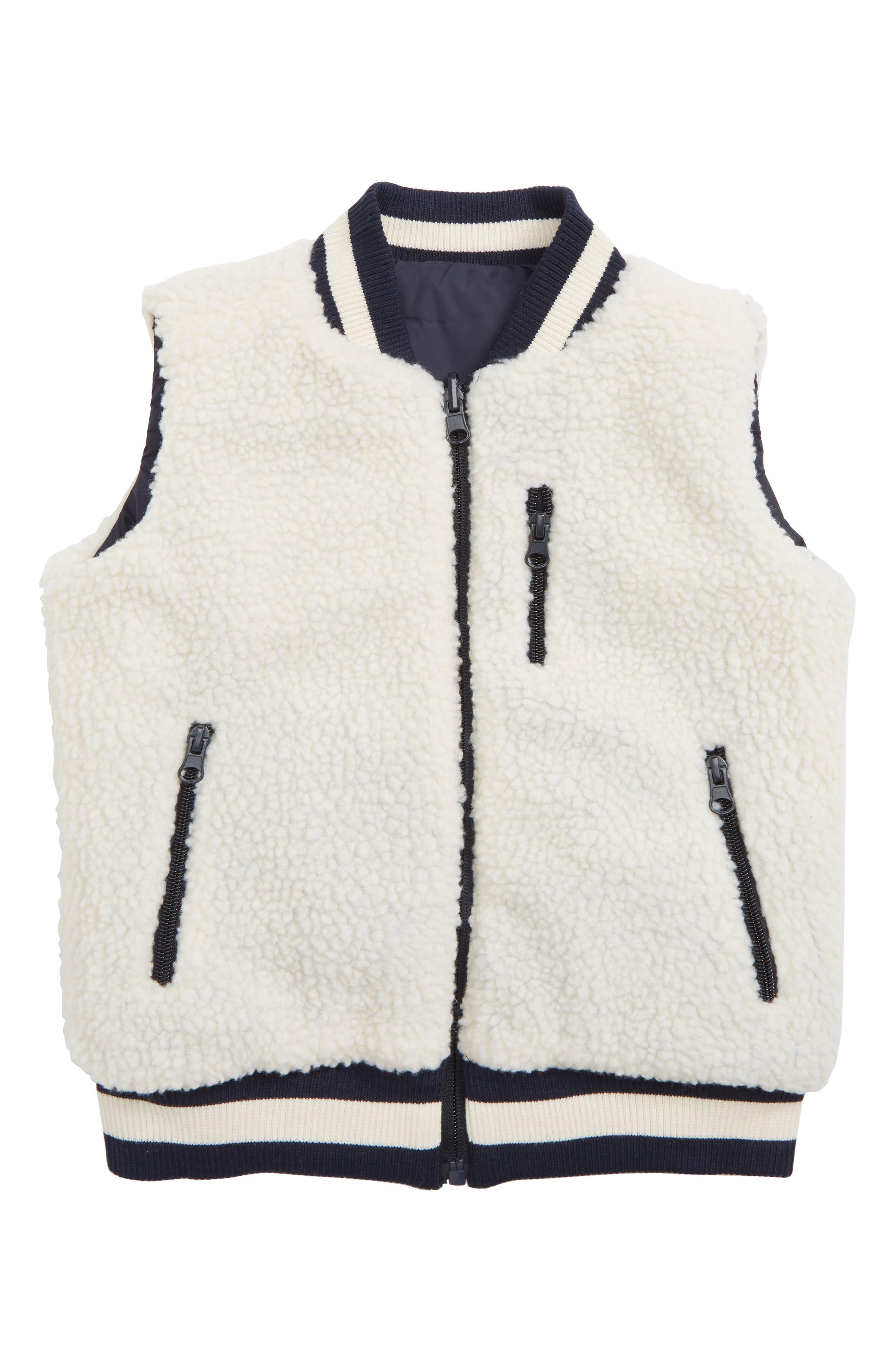Reversible Puffer Vest,                             Alternate thumbnail 2, color,                             NAVY